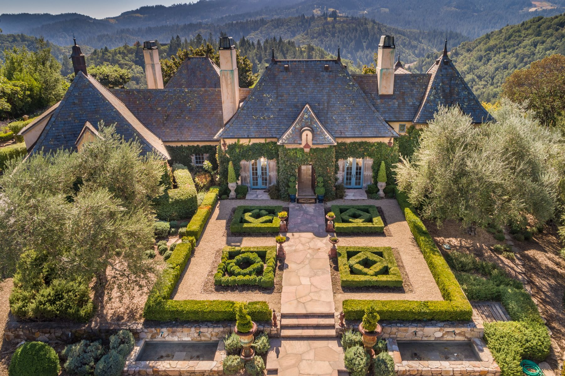 Single Family Homes 为 销售 在 Oakville Napa Valley Estate 100 Campbell Creek Rd 纳帕, 加利福尼亚州 90404 美国