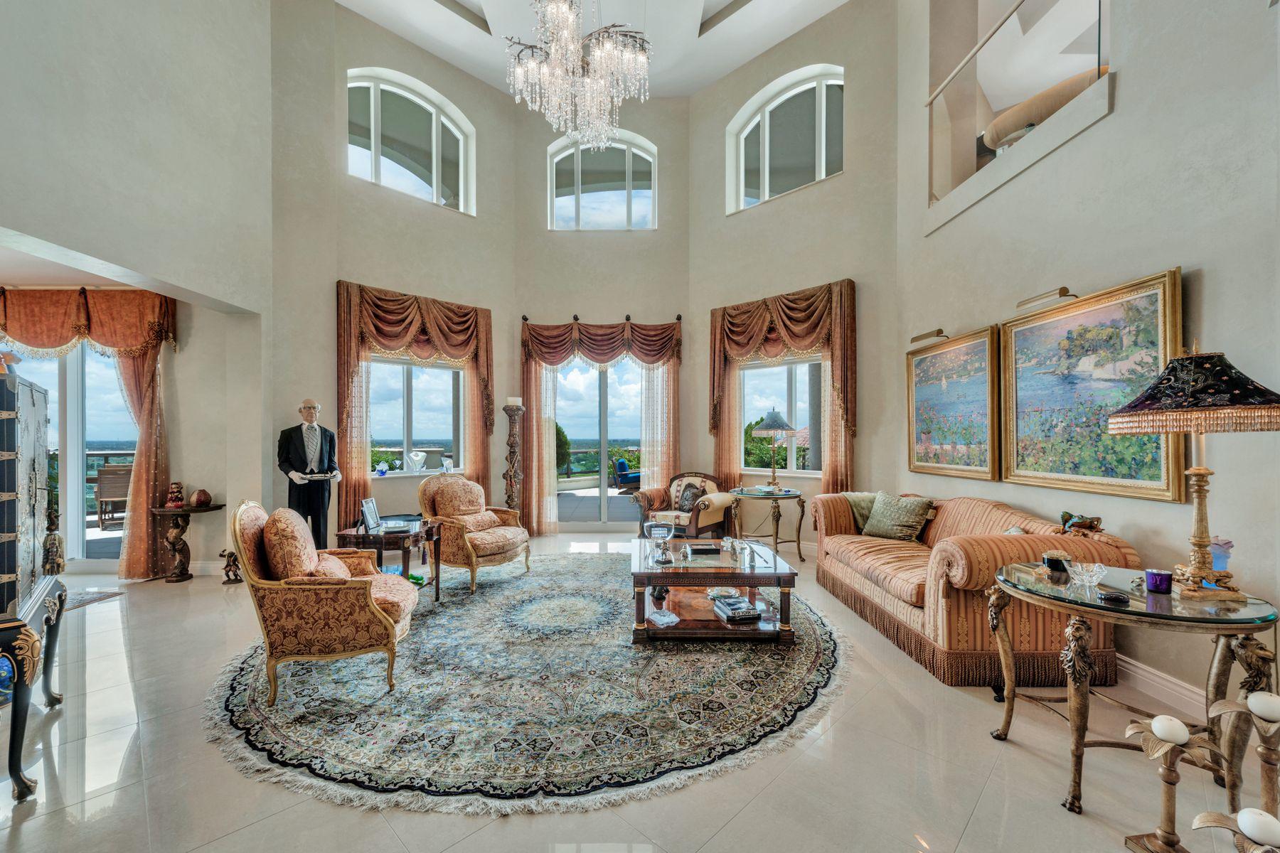 Condominiums für Verkauf beim Landmark at the Gardens Duplex Penthouse 3620 Gardens Pkwy Unit 1702B, Palm Beach Gardens, Florida 33410 Vereinigte Staaten