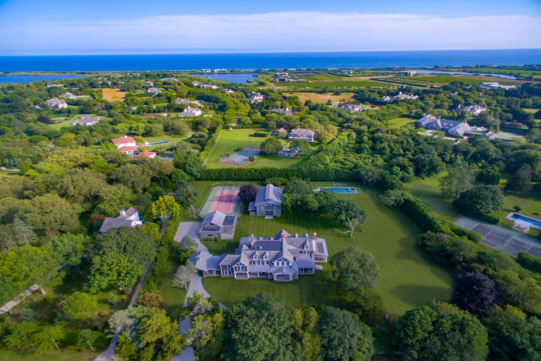 Property for Sale at Flying Point Compound, Pool and Tennis 475 Flying Point Road Water Mill, New York 11976 United States