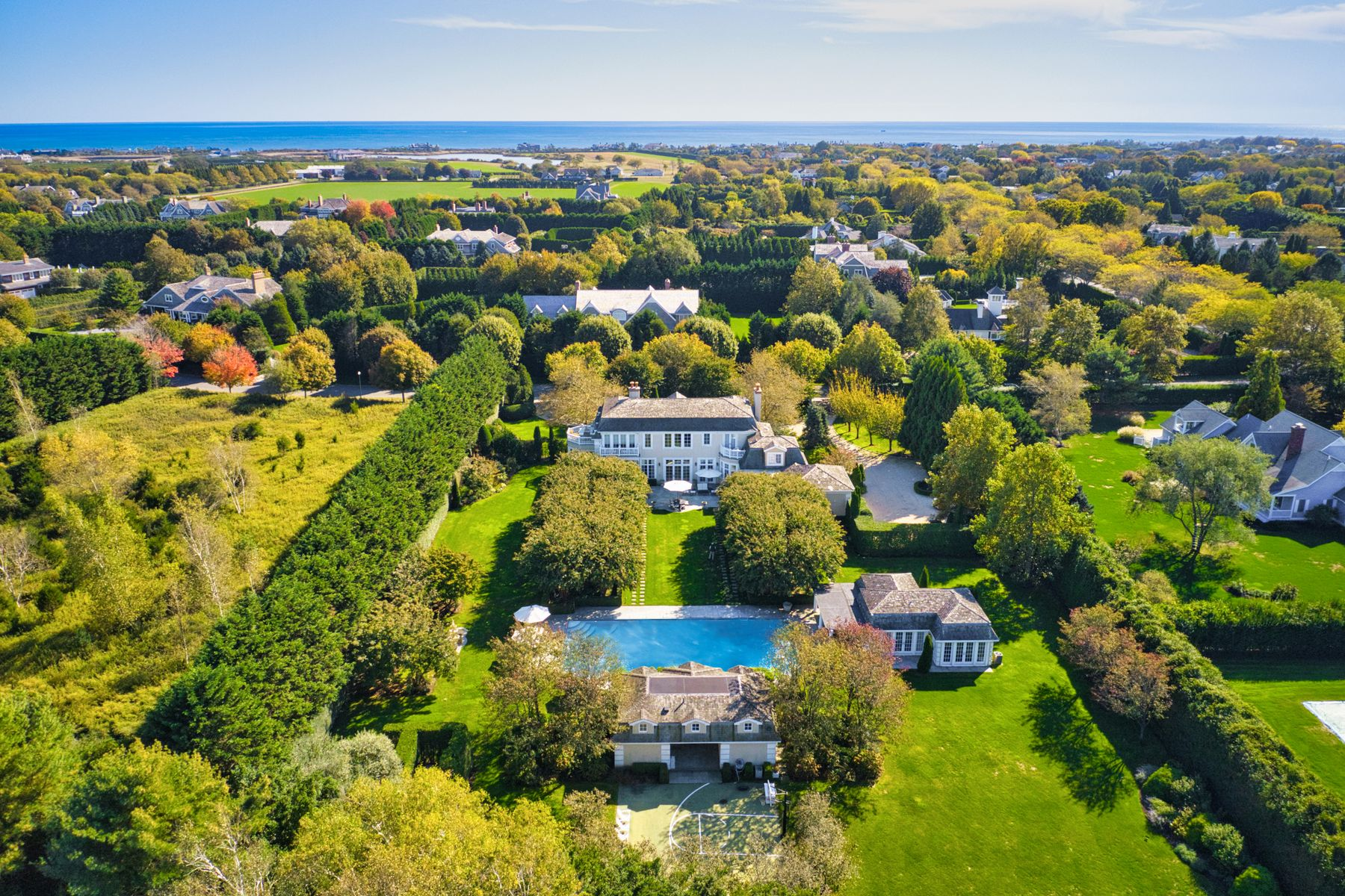 Property for Sale at Majestic Village Estate Mile From Beach Southampton, New York 11968 United States