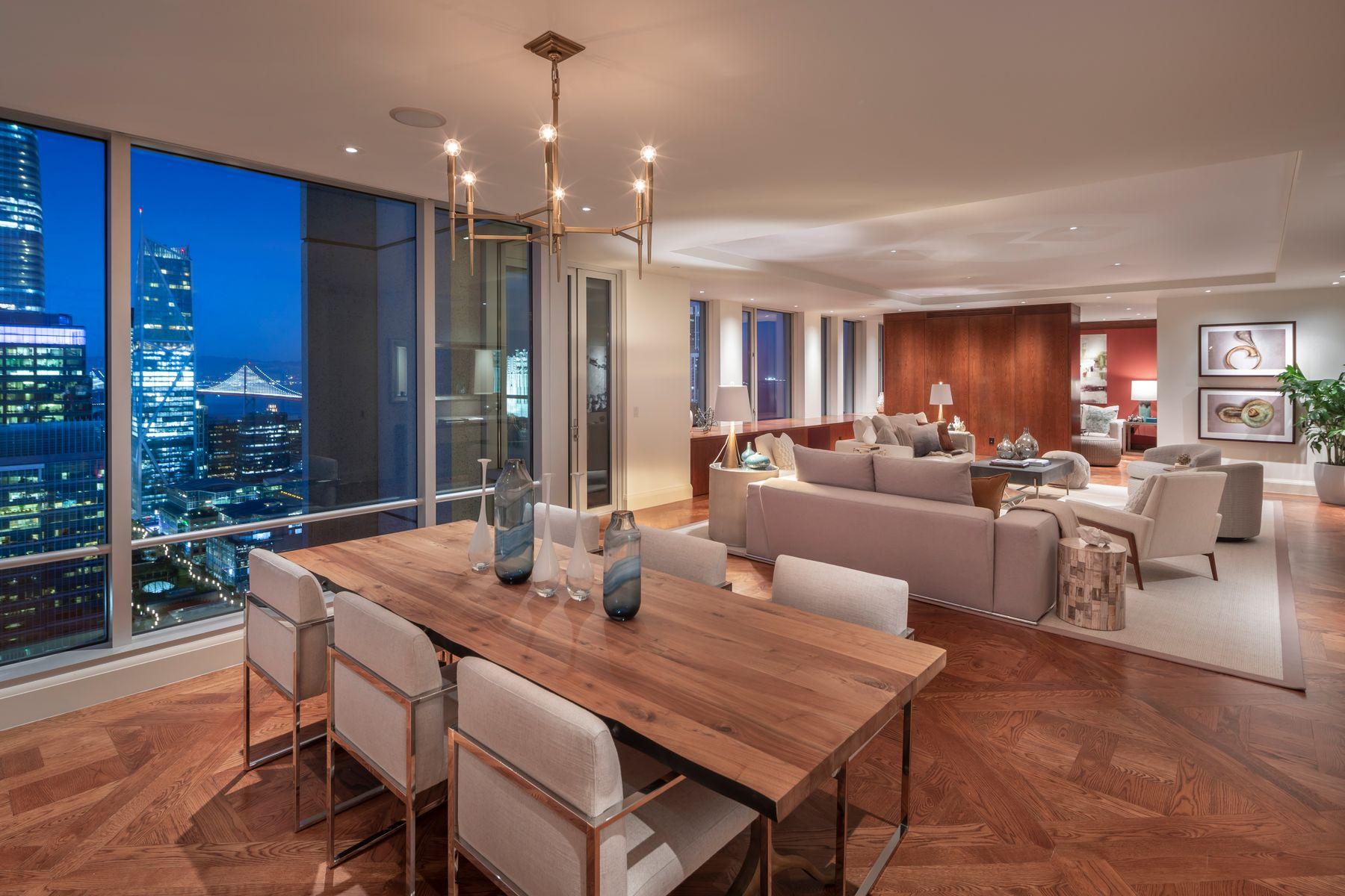 Condominiums por un Venta en 3,200sf St Regis Residence! San Francisco, California 94105 Estados Unidos