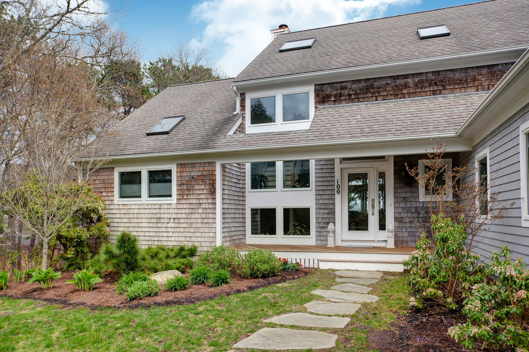 Single Family Home for Active at Waterfront With Association Dock 100 Meadow Neck Road East Falmouth, Massachusetts 02536 United States