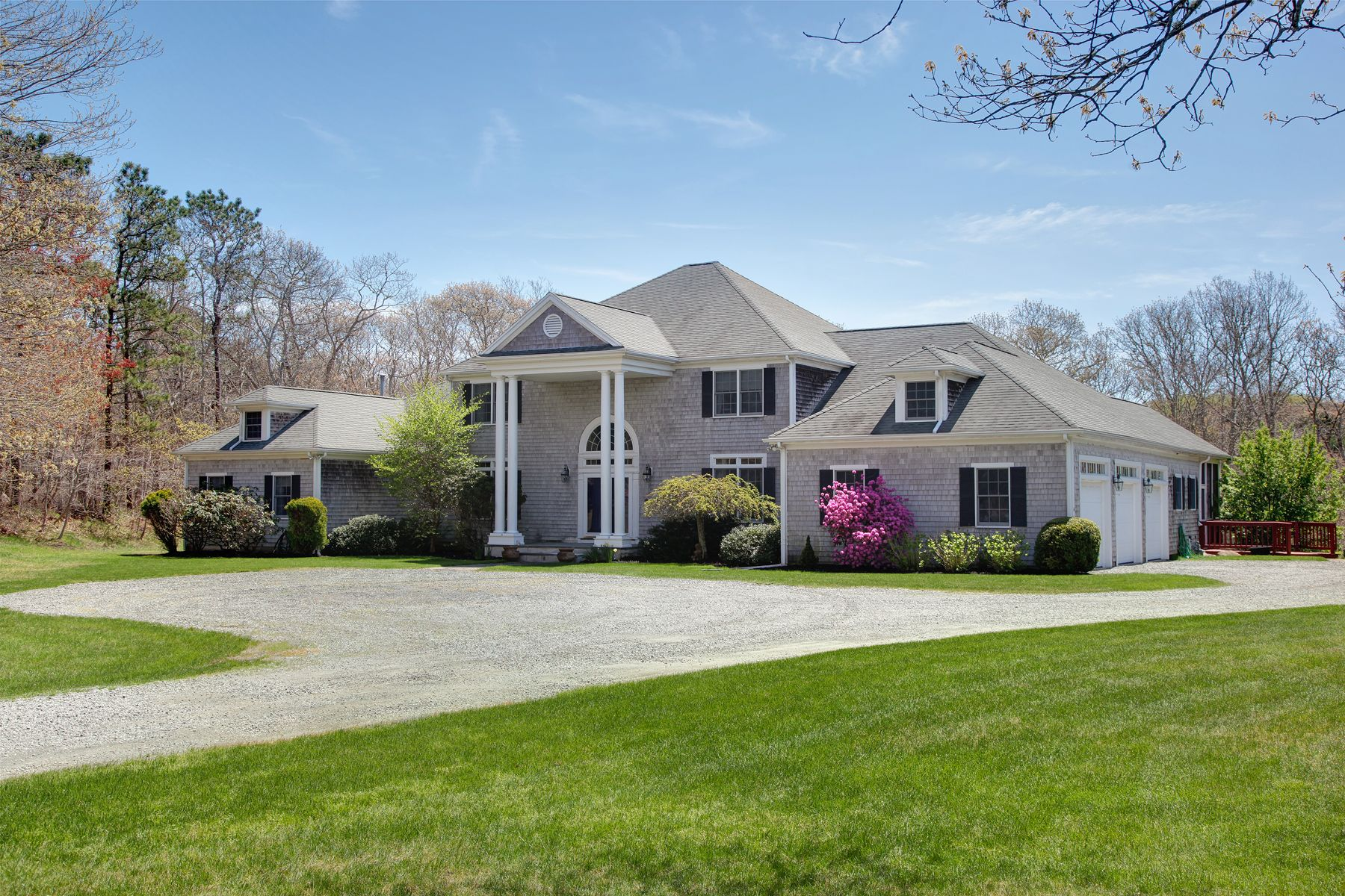 Single Family Home for Active at Sippewissett Pondfront Estate 352 Sippewissett Road Falmouth, Massachusetts 02540 United States