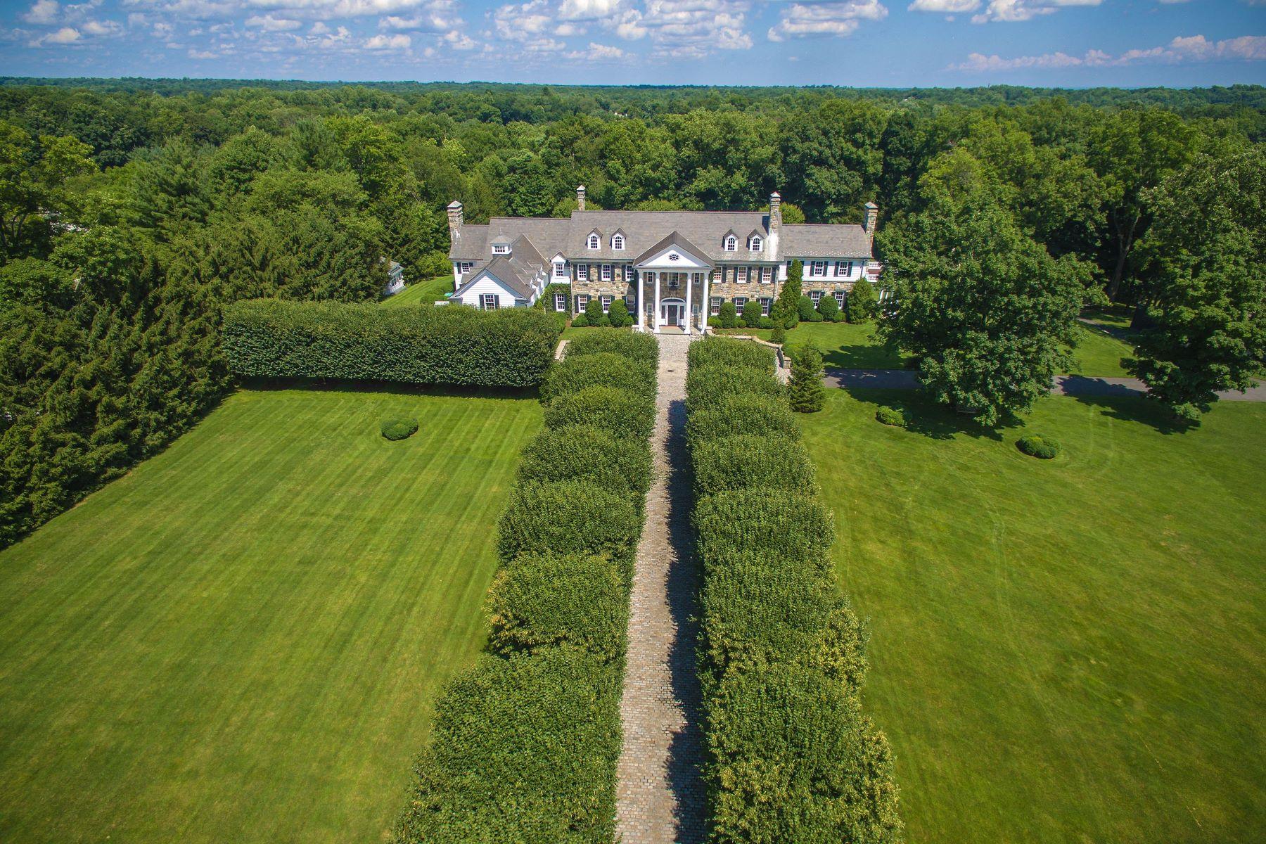 Single Family Homes por un Venta en Stone Hill 435 Round Hill Road Greenwich, Connecticut 06831 Estados Unidos