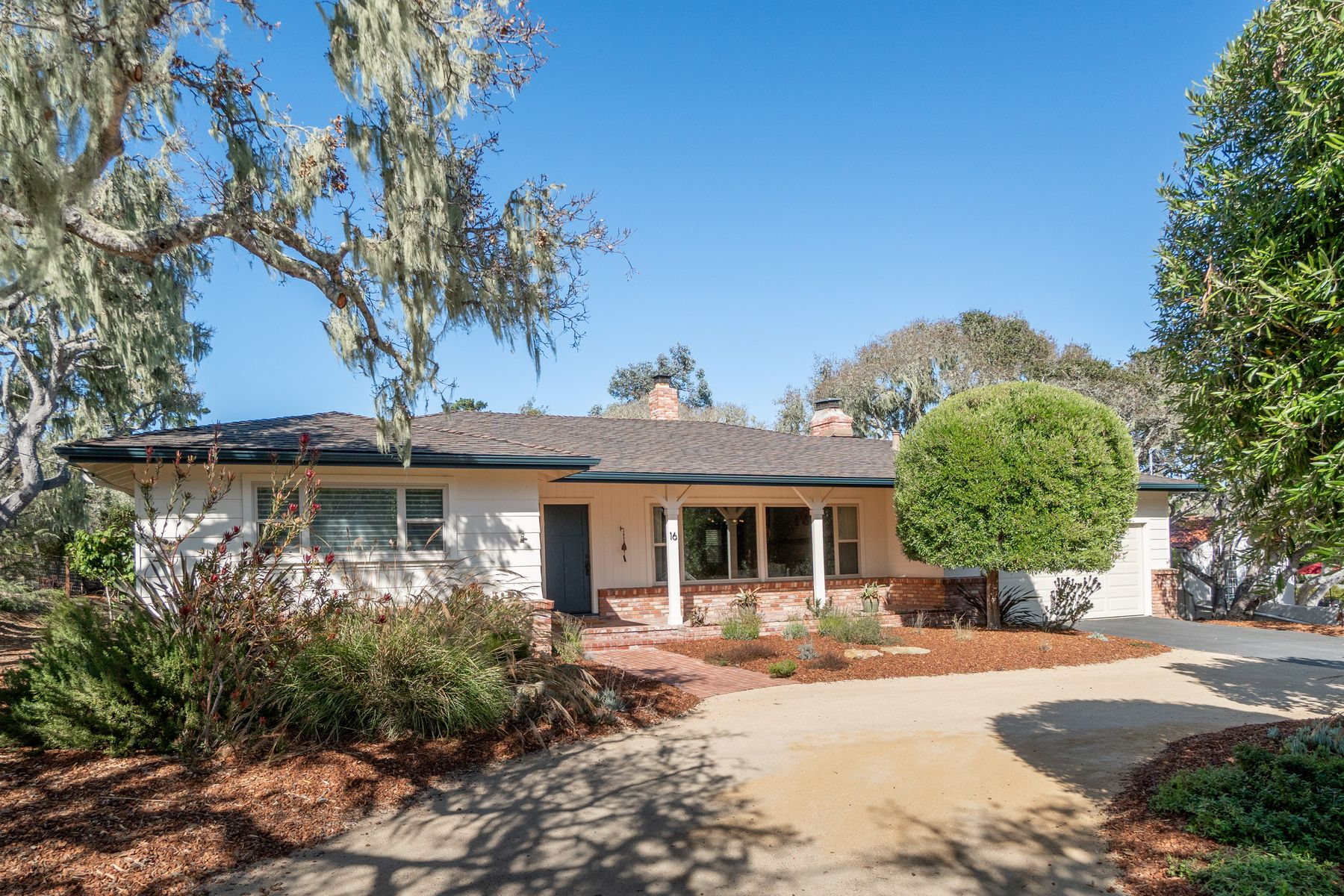 Single Family Homes for Sale at Beautifully Maintained Single Story Home 16 El Caminito Del Sur Monterey, California 93940 United States