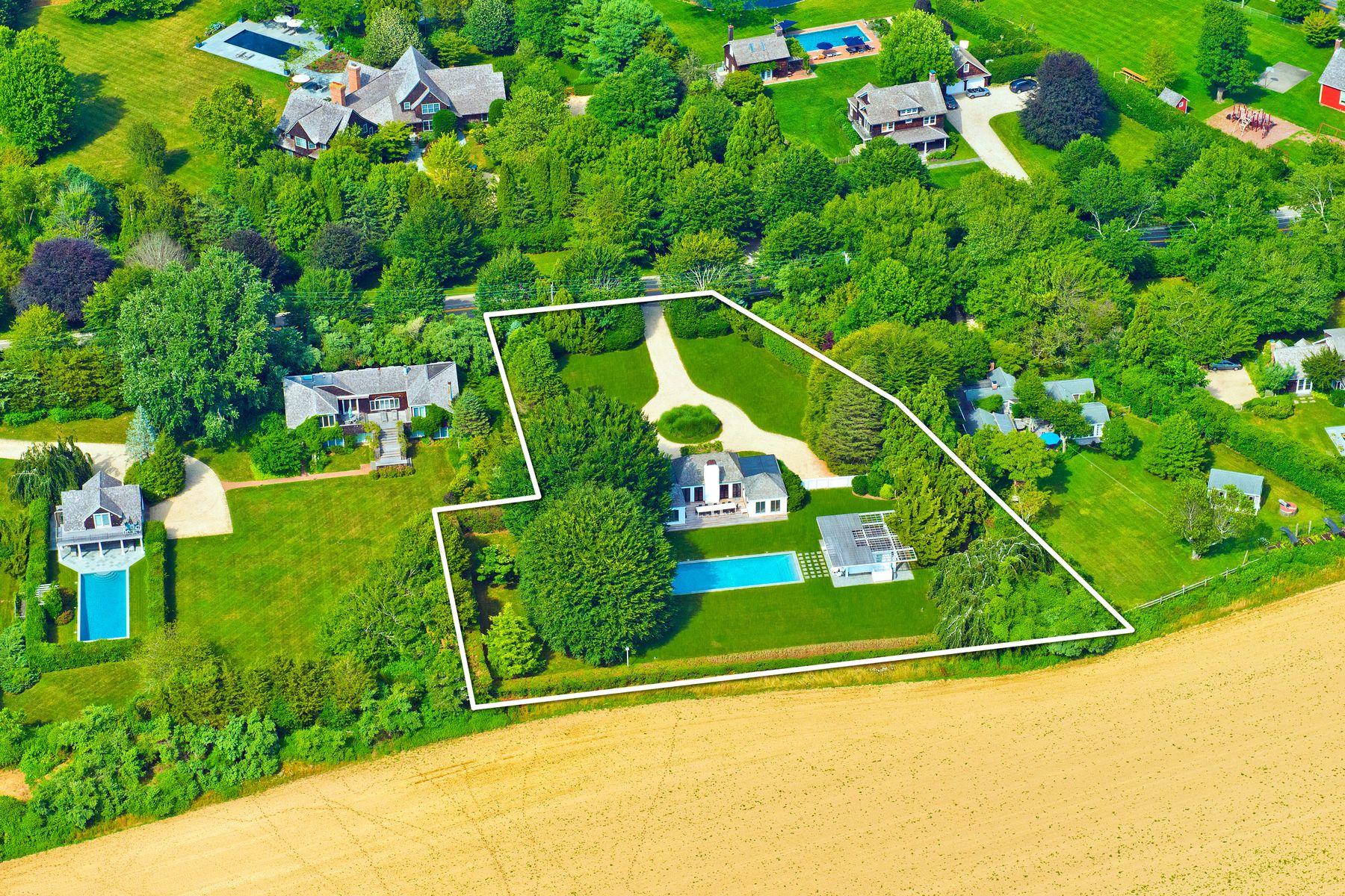 Single Family Homes für Verkauf beim Overlooking Reserve In Sagaponack 627 Sagaponack Road, Sagaponack, New York 11962 Vereinigte Staaten