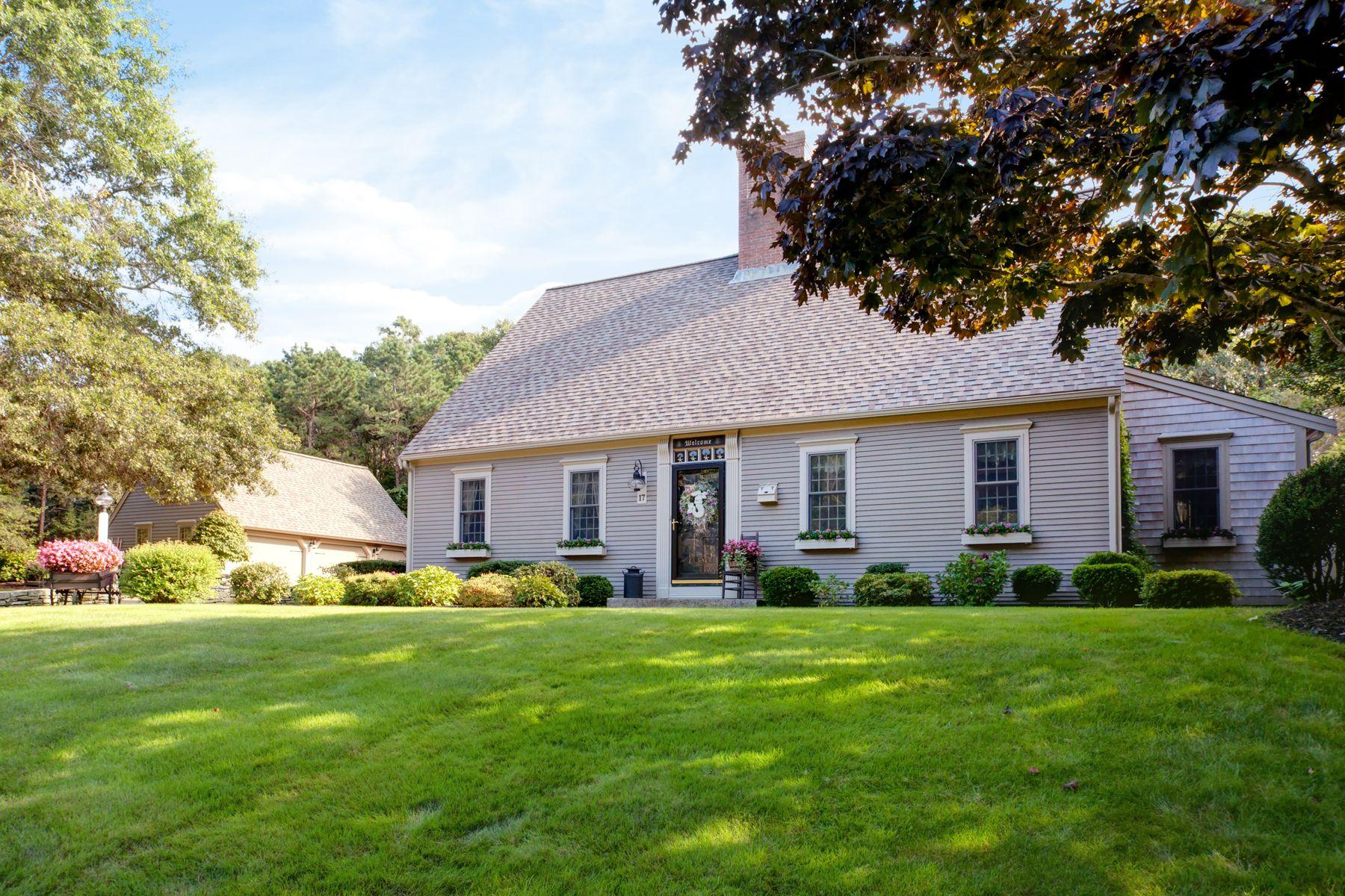 Single Family Homes por un Venta en 17 Tarragon Drive East Sandwich, Massachusetts 02537 Estados Unidos