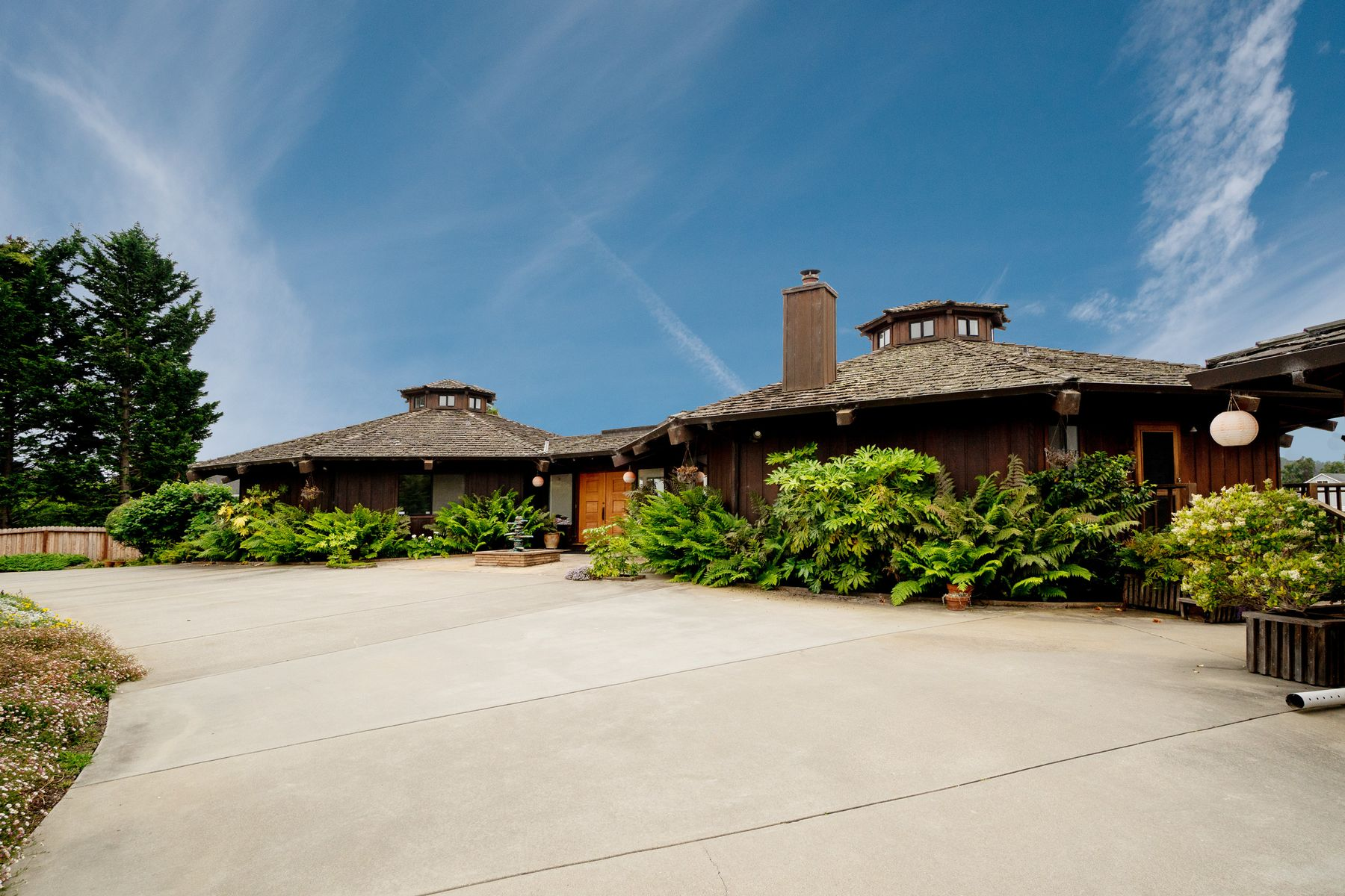 Single Family Homes for Sale at Timeless Contemporary 19220 Pioneer Place Aromas, California 95004 United States