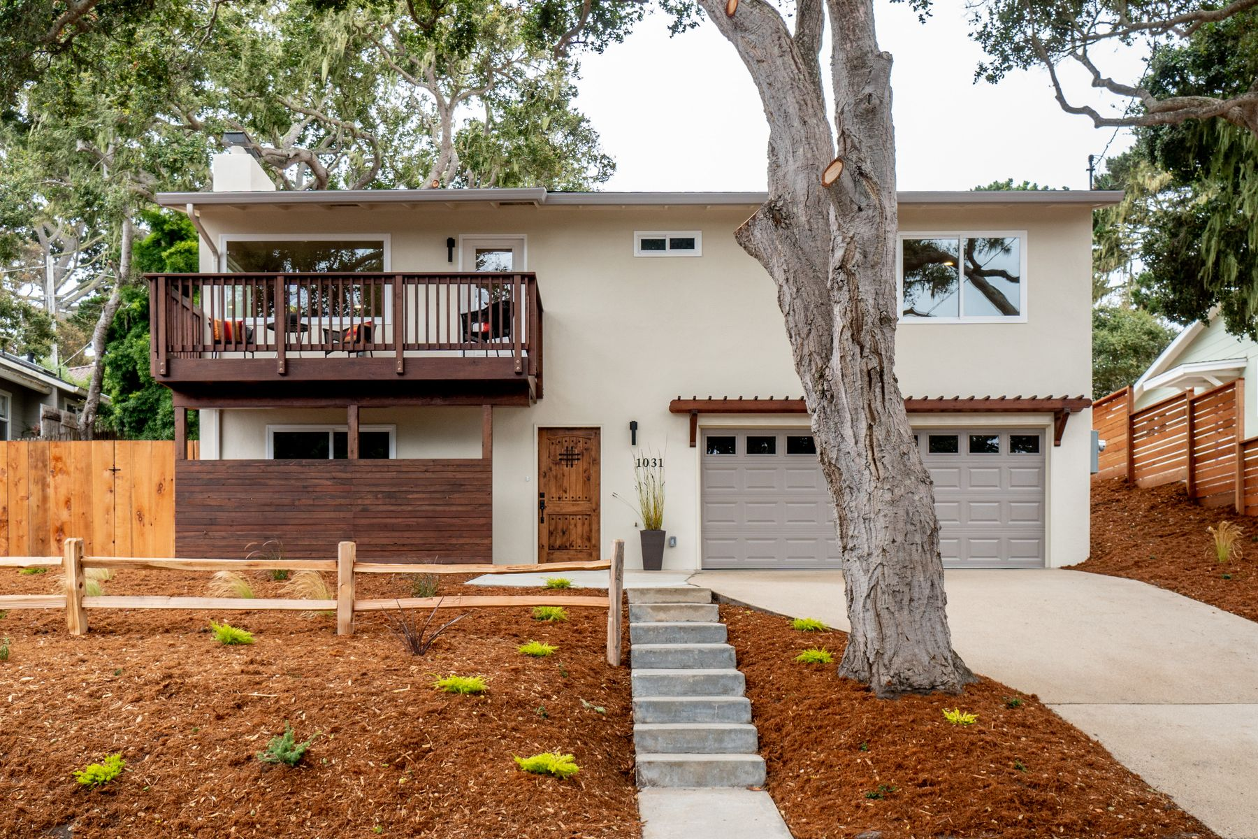 Single Family Homes for Sale at Newly Remodeled Beach Tract Home 1031 Jewell Avenue Pacific Grove, California 93950 United States