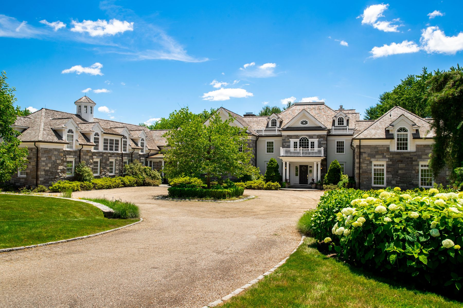 Single Family Homes for Sale at Extraordinary Country Estate 808 North Street Greenwich, Connecticut 06831 United States