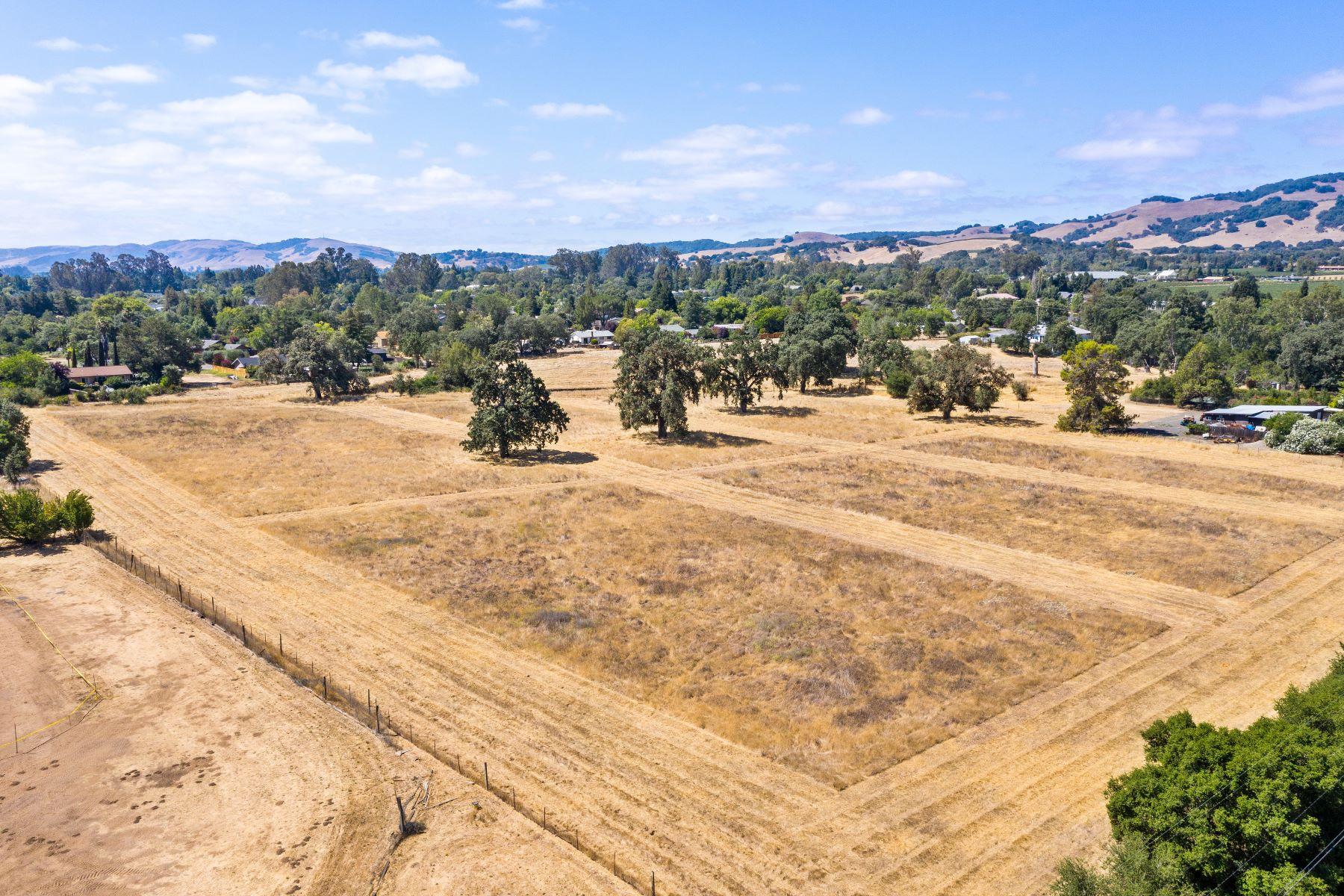 Terreno por un Venta en Valley Floor Estate/Development Parcel 1100 Craig Ave Sonoma, California 95476 Estados Unidos