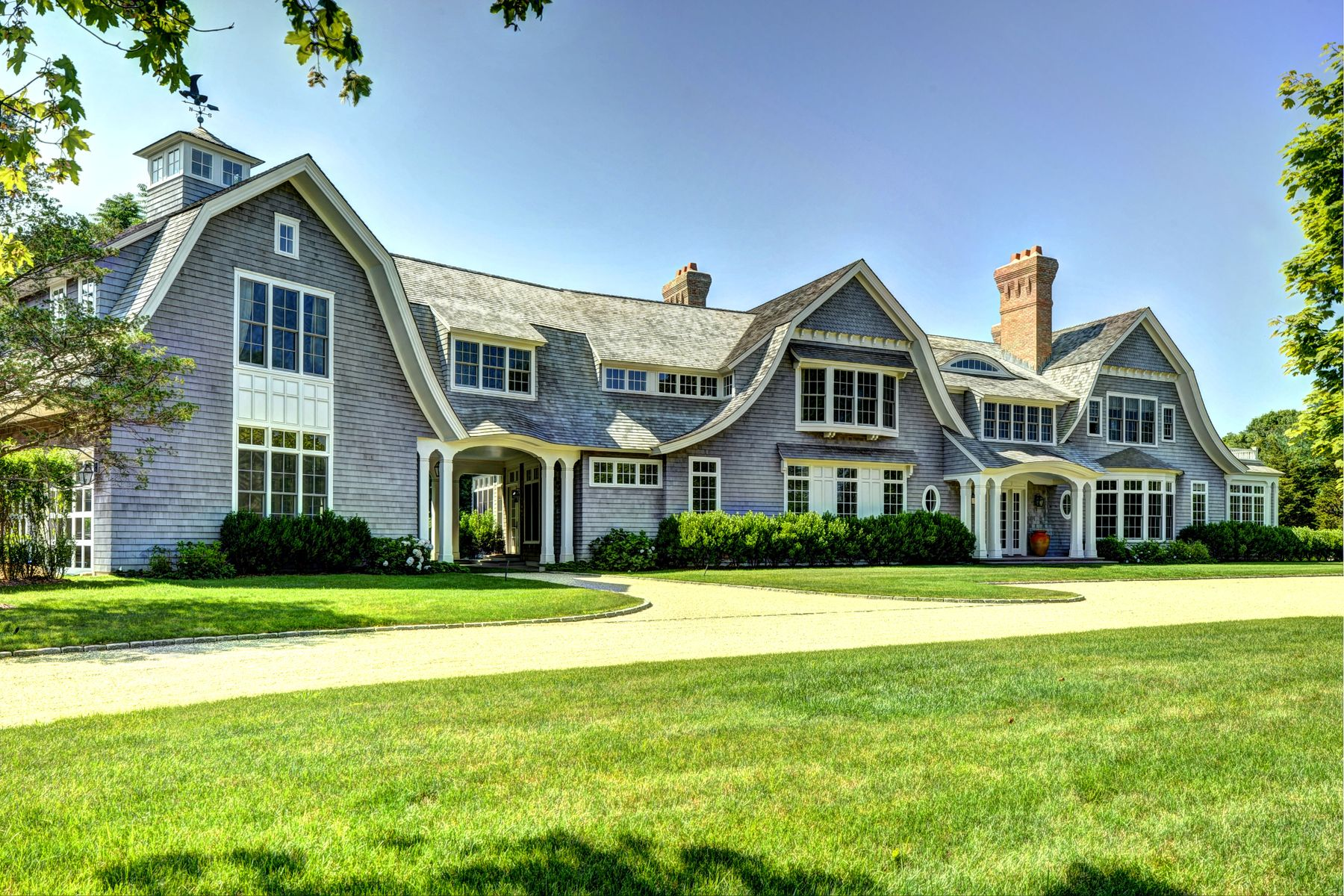 Single Family Homes for Sale at Master-Designed Shingle Style Home 56 Barnhart Street Southampton, New York 11968 United States