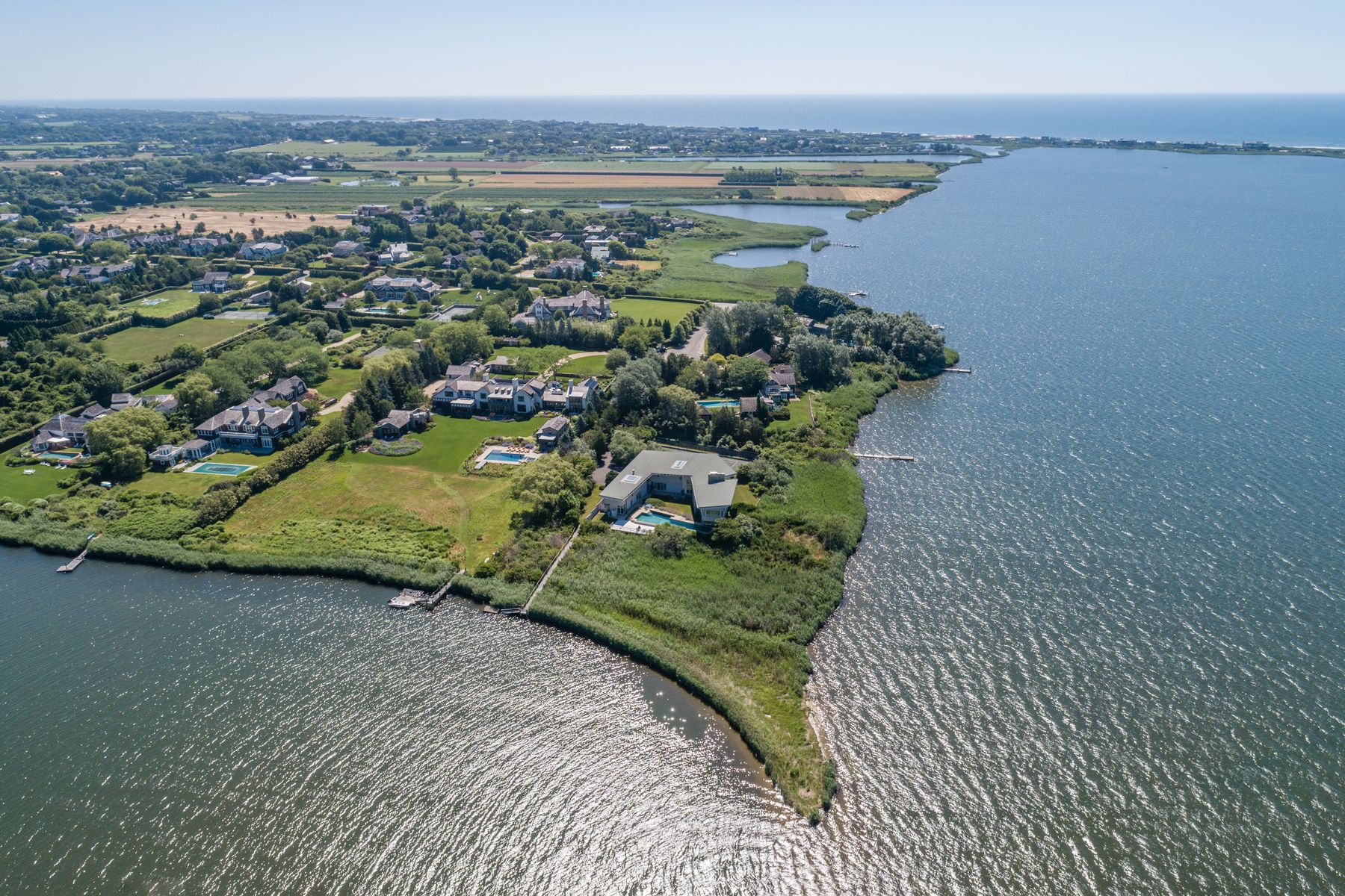 Single Family Home for Rent at MECOX BAY WF - TENNIS AND DOCK Water Mill, New York 11976 United States
