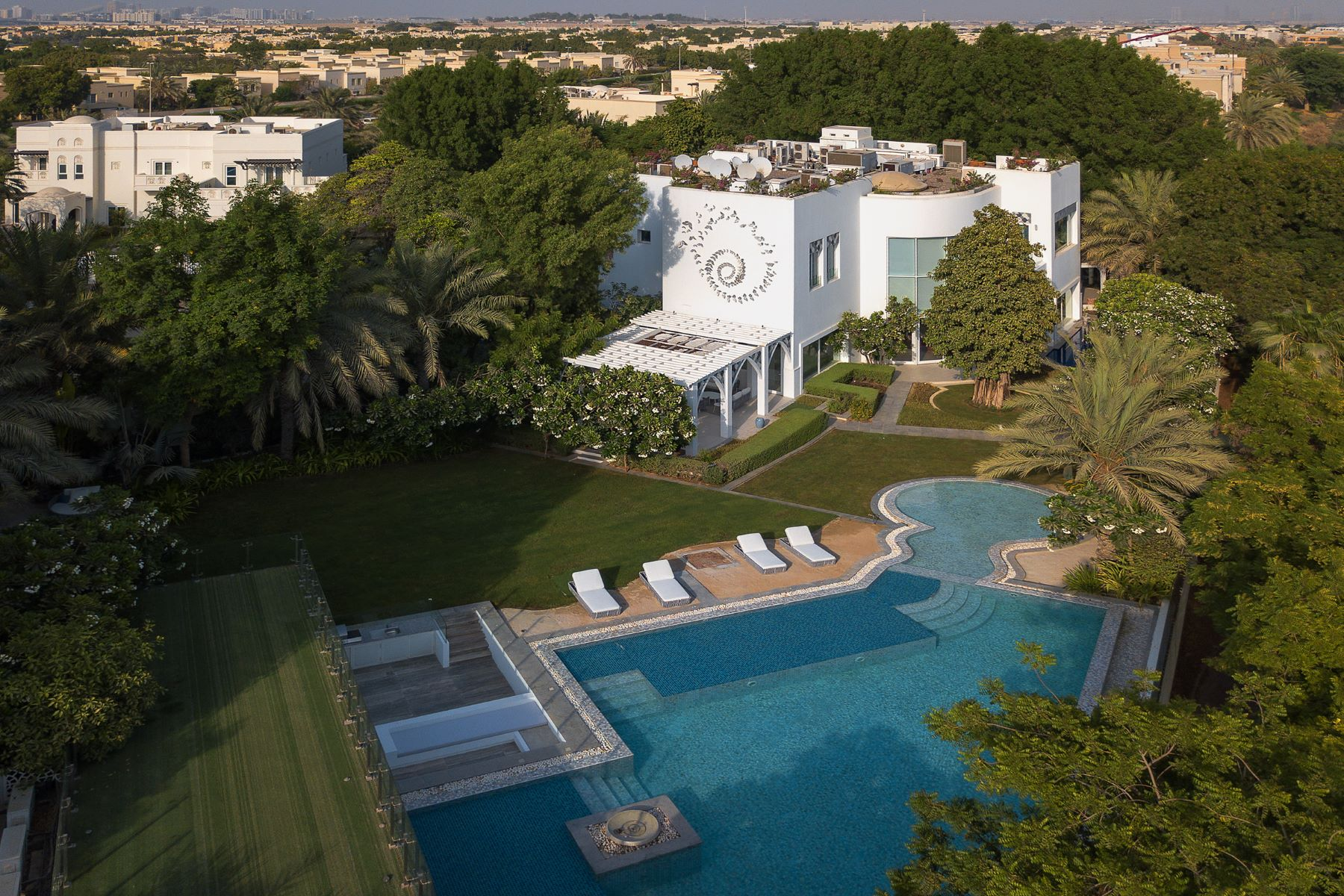 Other Residential Homes for Rent at Luxurious 7 Bed+Maids Villa Emirates Hills Rent Dubai, Dubai United Arab Emirates