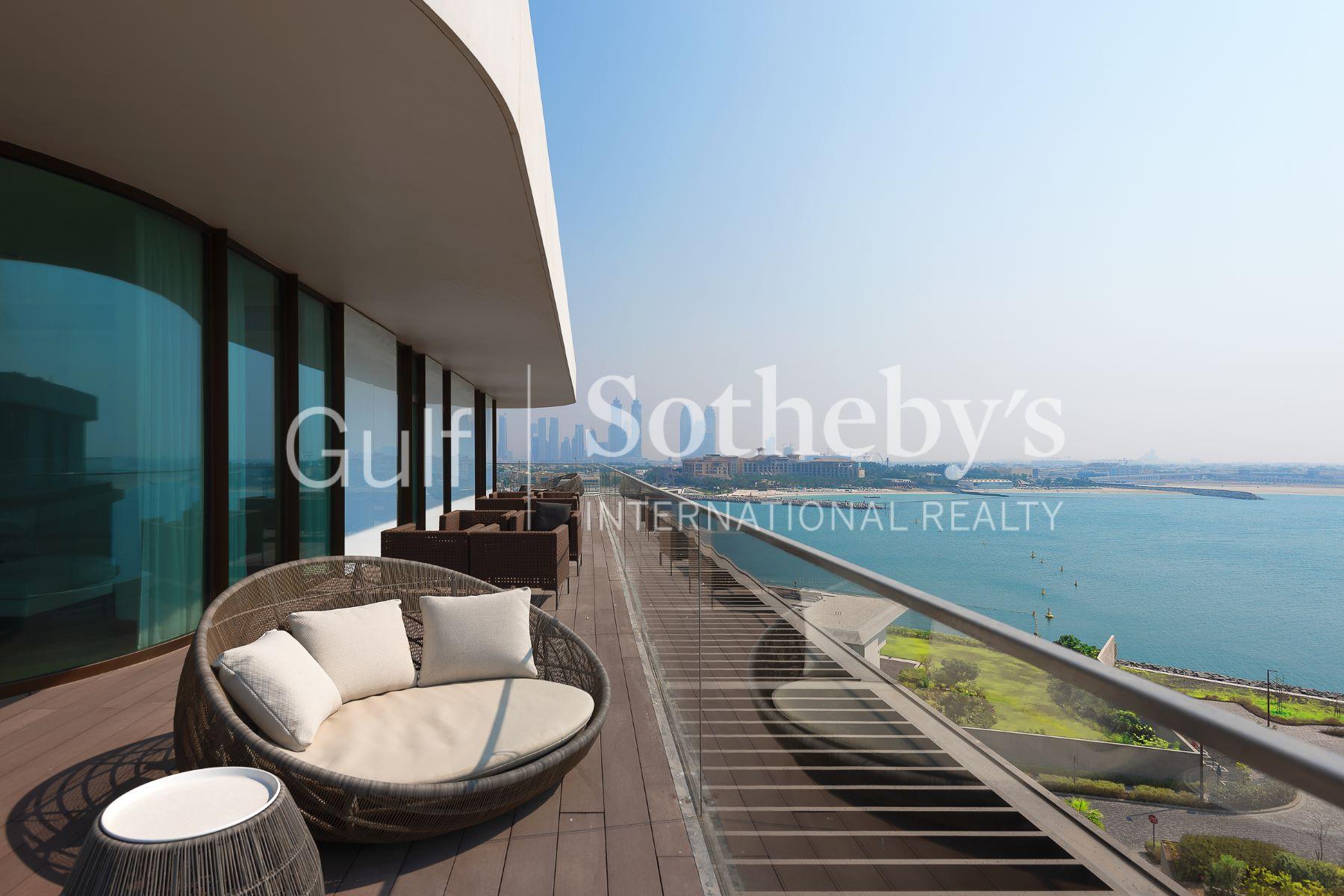 Additional photo for property listing at Stunning 4 Bedrooms Penthouse in Bulgari Residences Dubai, Dubai United Arab Emirates