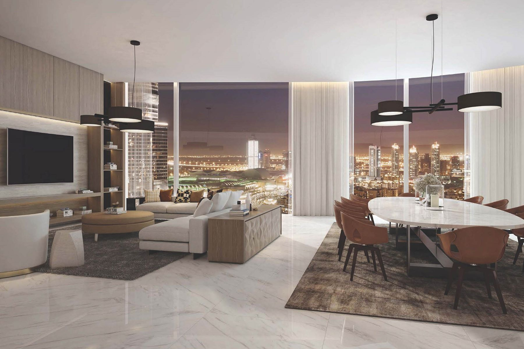 Apartments for Sale at Pay Only 25% To Move In Luxurious 4BR IL Primo Dubai, Dubai United Arab Emirates