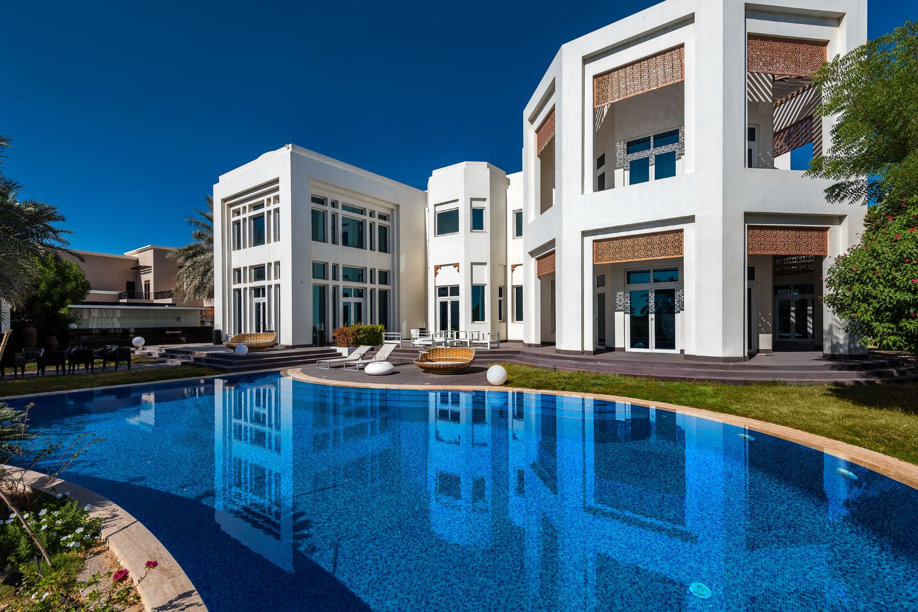 Other Residential Homes 용 임대 에 Luxury Villa 7 Bedroom Golf and Lake Views Dubai, 두바이 아랍에미리트