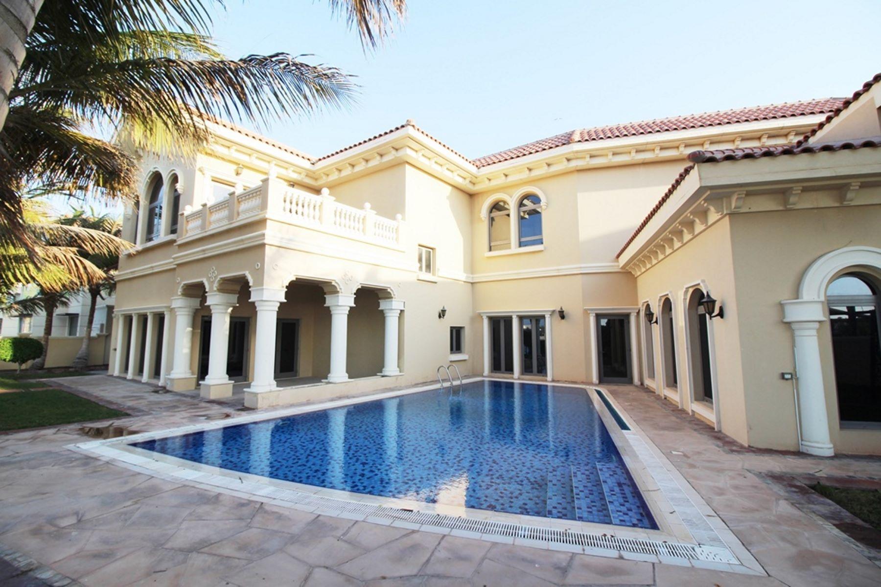 Other Residential Homes 为 出租 在 Atlantis View 6BR Beachfront Villa 迪拜, 杜拜 阿联酋