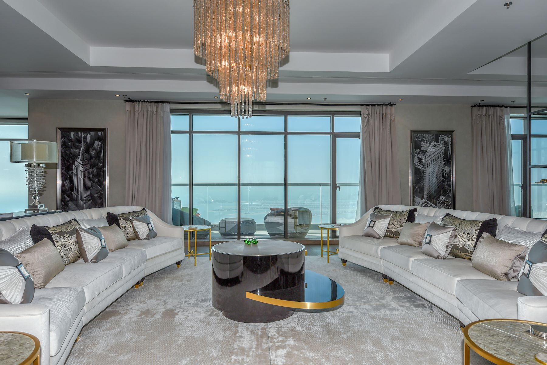 Apartments 为 出租 在 Five Bedroom Penthouse with Sea View 迪拜, 杜拜 阿联酋