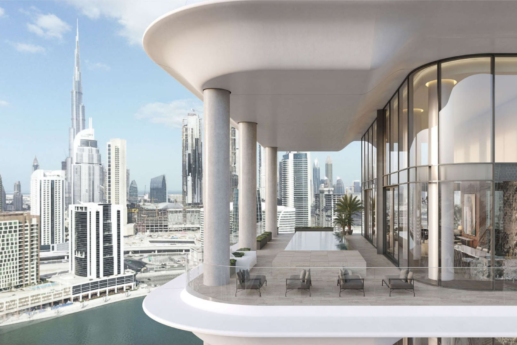 Apartments por un Venta en Luxury Penthouse at The Dorchester Collection Dubai, Dubai Emiratos Arabes Unidos