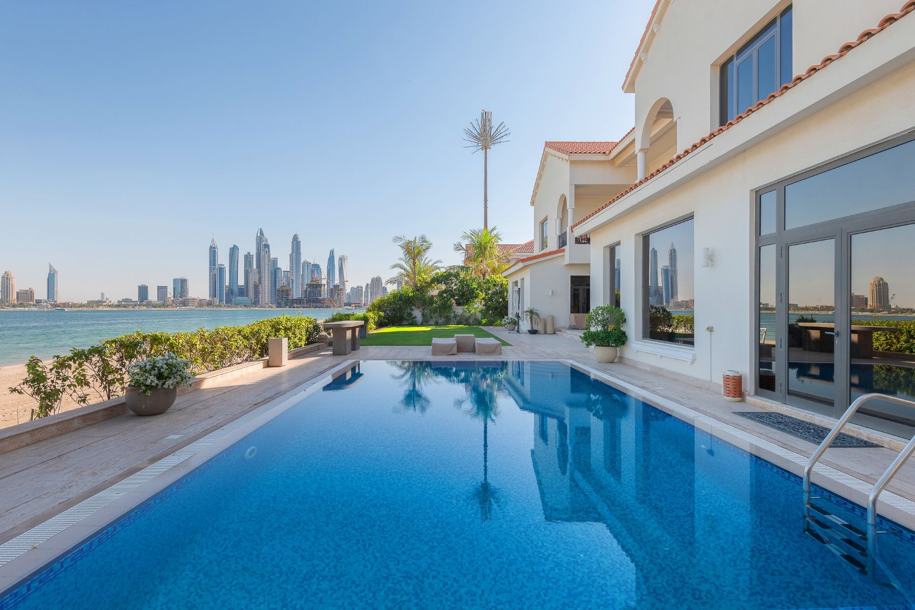 Property for Sale at Exclusive! Renovated Beachfront Signature Villa Dubai, Dubai United Arab Emirates