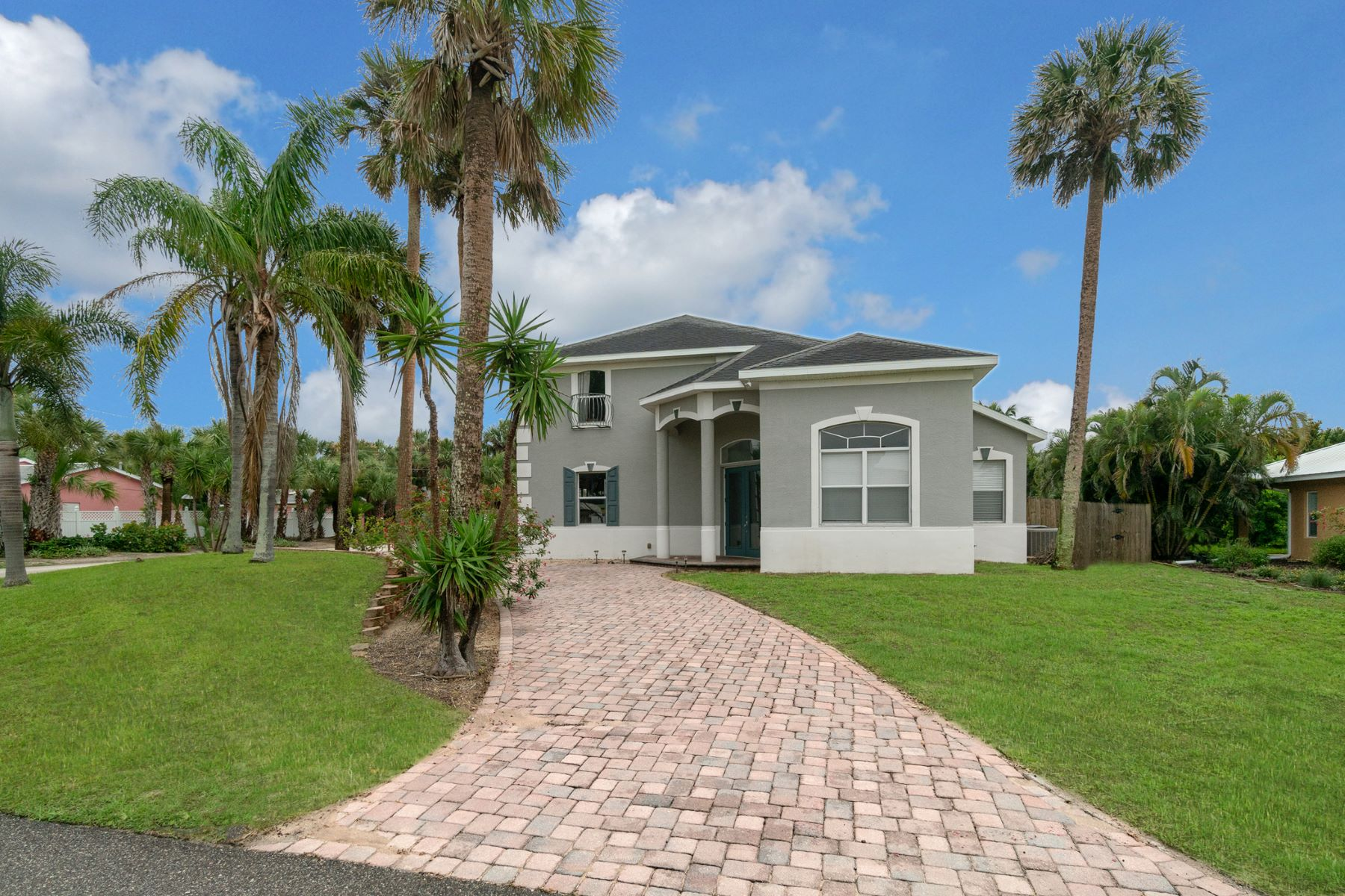 Single Family Homes for Sale at Gorgeous Home Only Steps From the Ocean 301 First Avenue Melbourne Beach, Florida 32951 United States