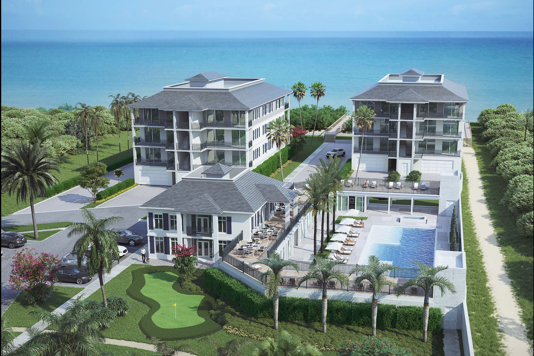 Property 용 매매 에 Blue at 8050 8050 Highway A1A Tower 2 401 Vero Beach, 플로리다 32963 미국