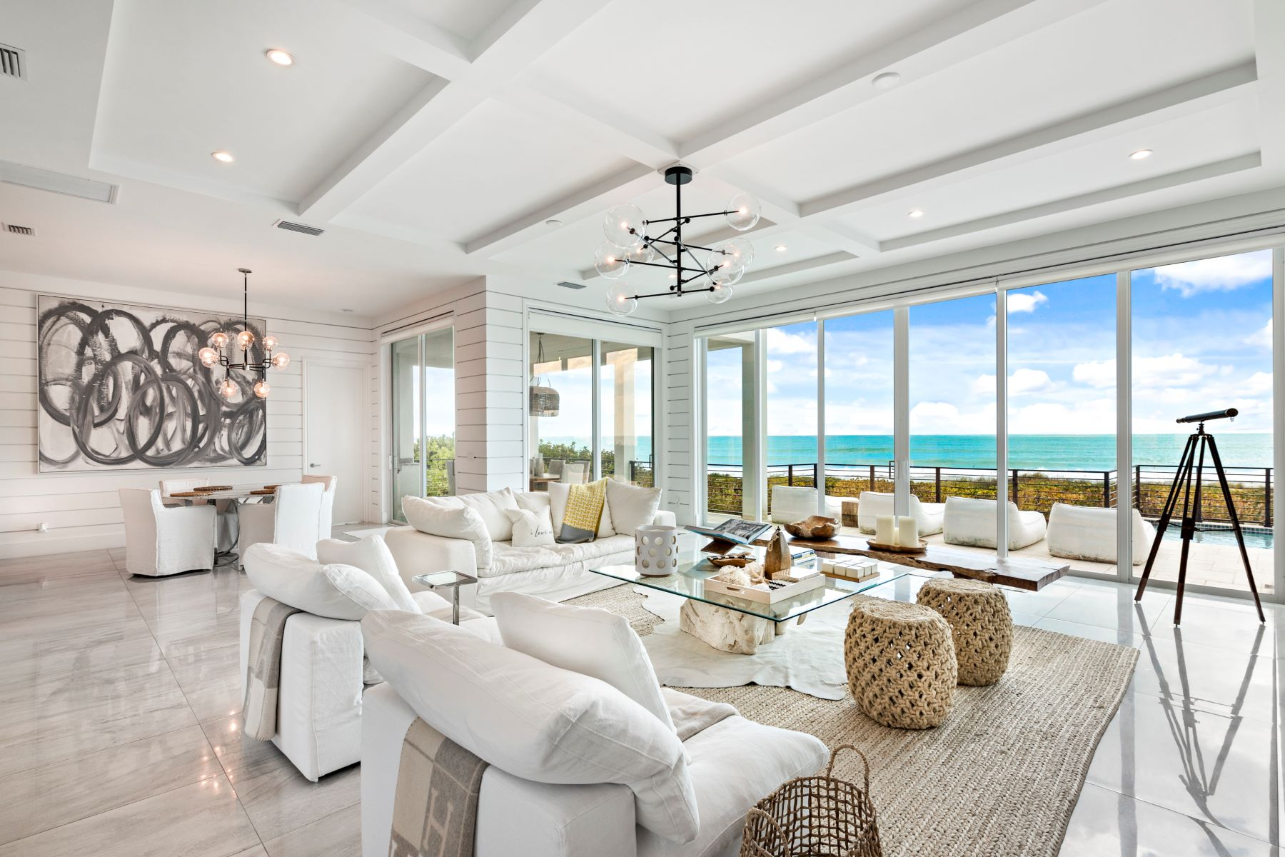 Property for Sale at Oceanfront Designer Masterpiece 4440 N Highway A1A Hutchinson Island, Florida 34949 United States