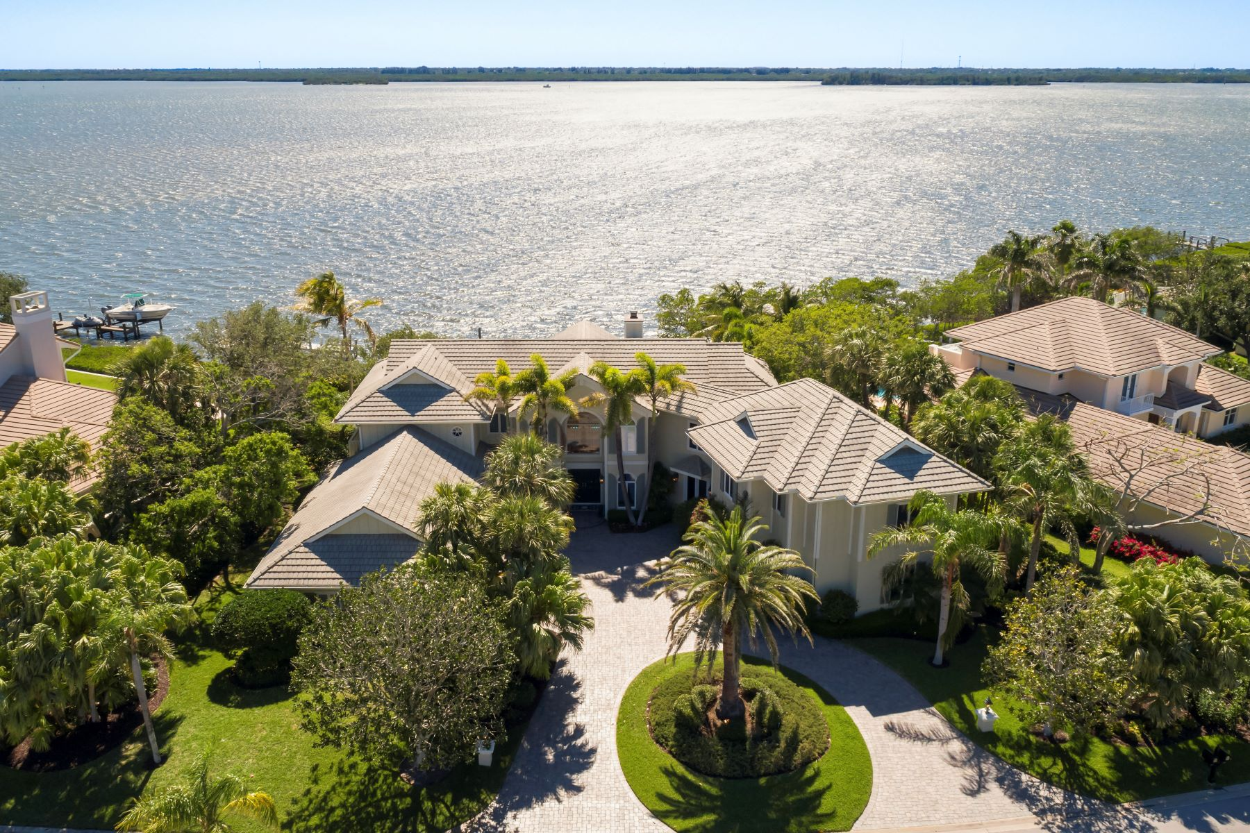 Other Residential Homes for Sale at Impeccable Riverfront Masterpiece in Seagrove West 255 Riverway Drive Vero Beach, Florida 32963 United States