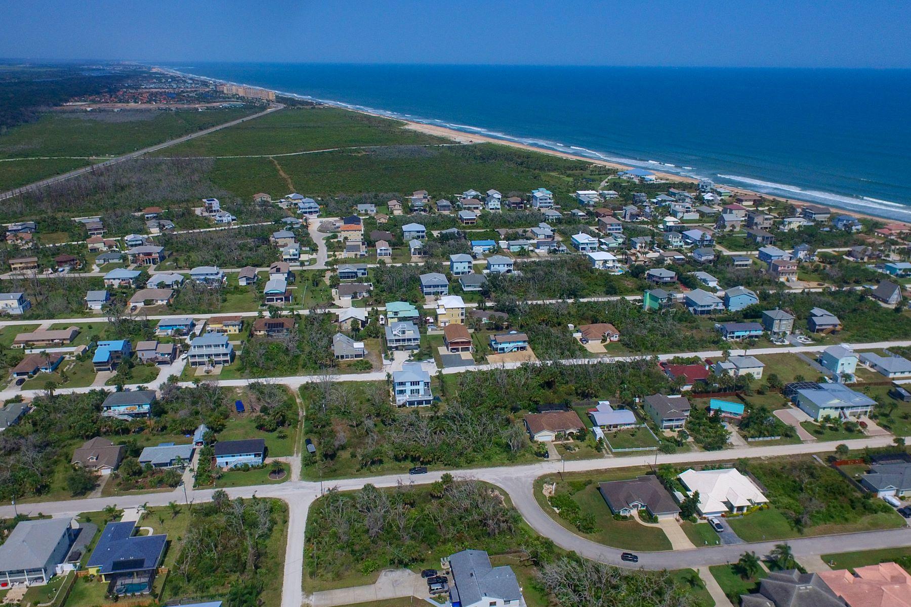 土地,用地 为 销售 在 Build Your Dream Home on This Over-Sized Lot Just Steps from the Beach! 7 Central Avenue 棕榈海岸, 佛罗里达州 32137 美国