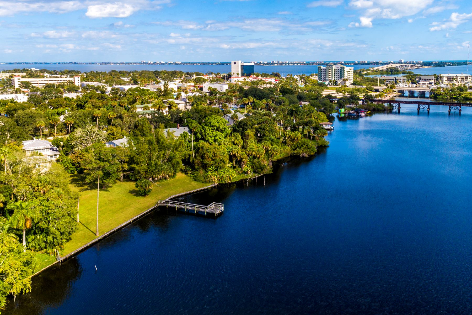 Land for Sale at Two Waterfront Properties Being Sold Together! 819 & 823 E Melbourne Avenue Melbourne, Florida 32901 United States