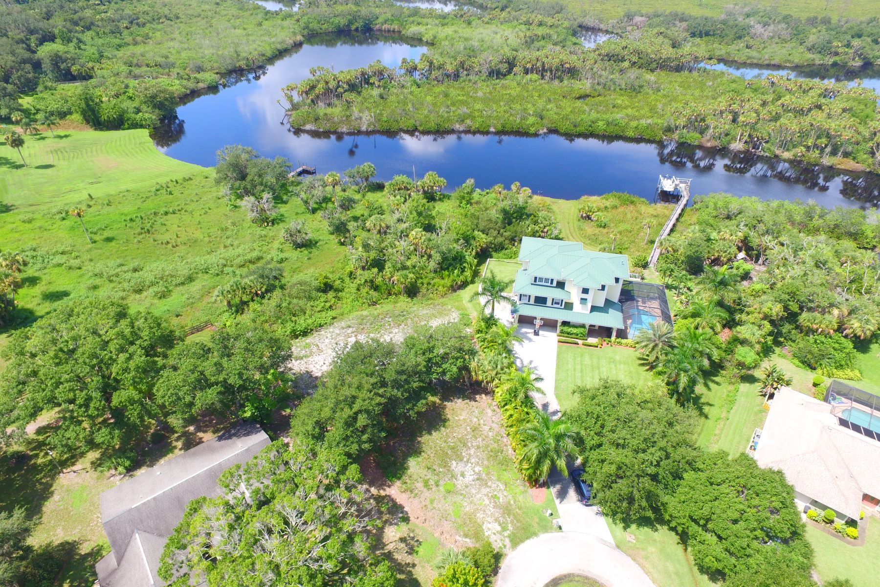 Property for Sale at Serene Location Overlooking the St. Sebastian River Preserve 845 Robin Lane Sebastian, Florida 32958 United States
