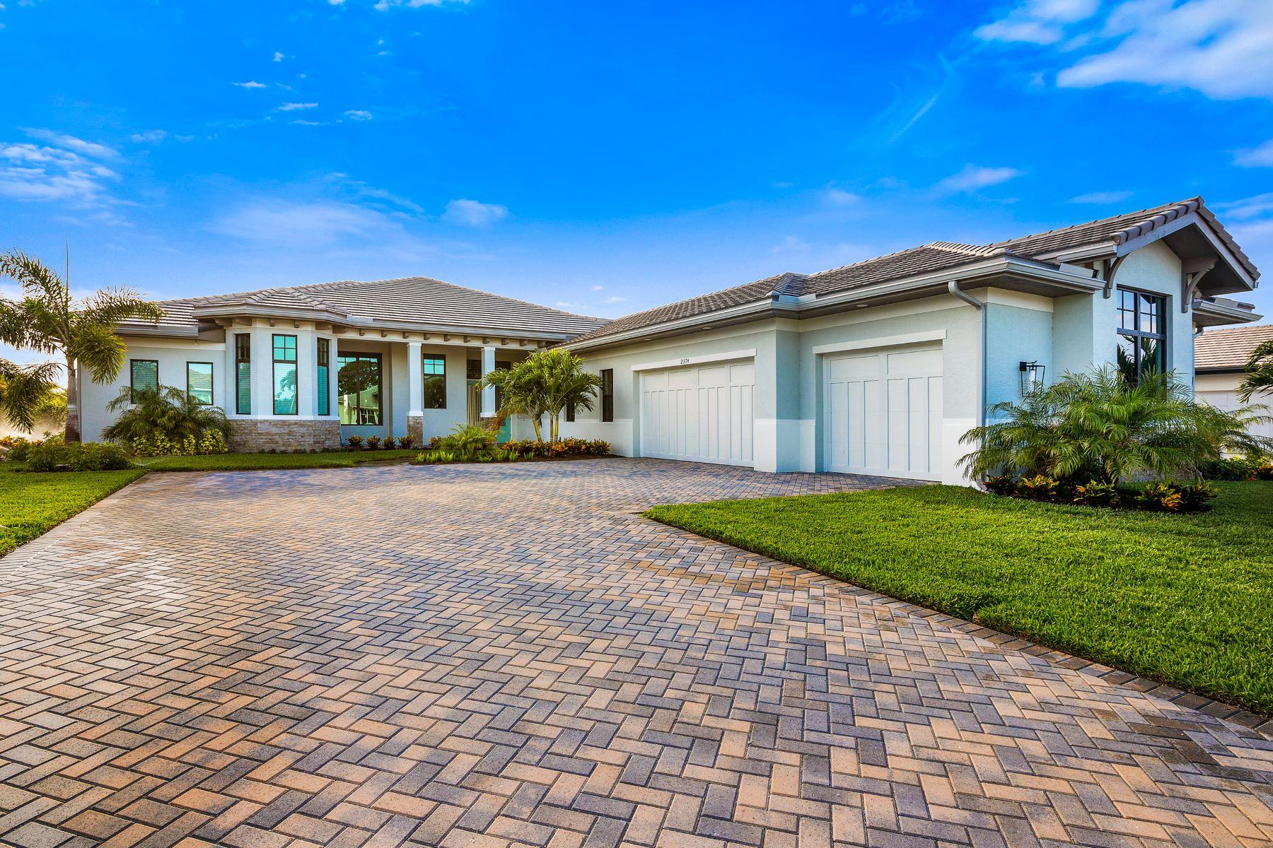 Single Family Homes vì Bán tại Luxury New Construction in Grand Harbor 2344 Grand Harbor Reserve Square Vero Beach, Florida 32967 Hoa Kỳ