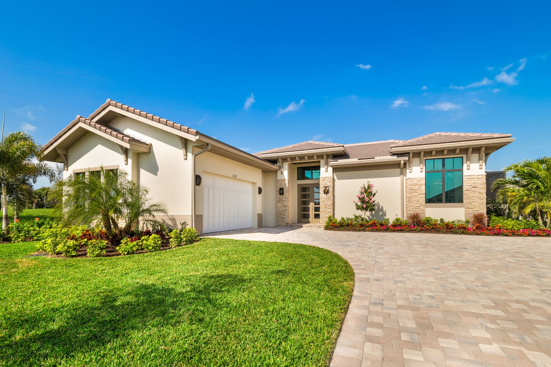 Single Family Homes for Sale at Luxury New Home in the Reserve at Grand Harbor 2348 Grand Harbor Reserve Vero Beach, Florida 32967 United States