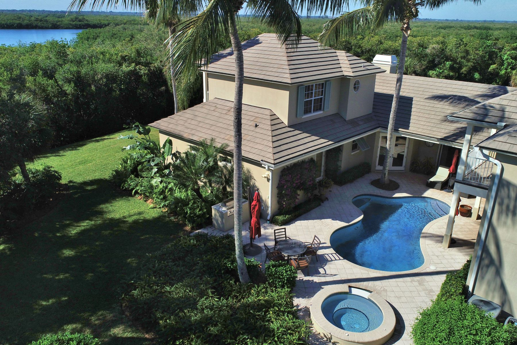 Courtyard Estate 945 Orchid Point Way Vero Beach, Florida 32963 Estados Unidos