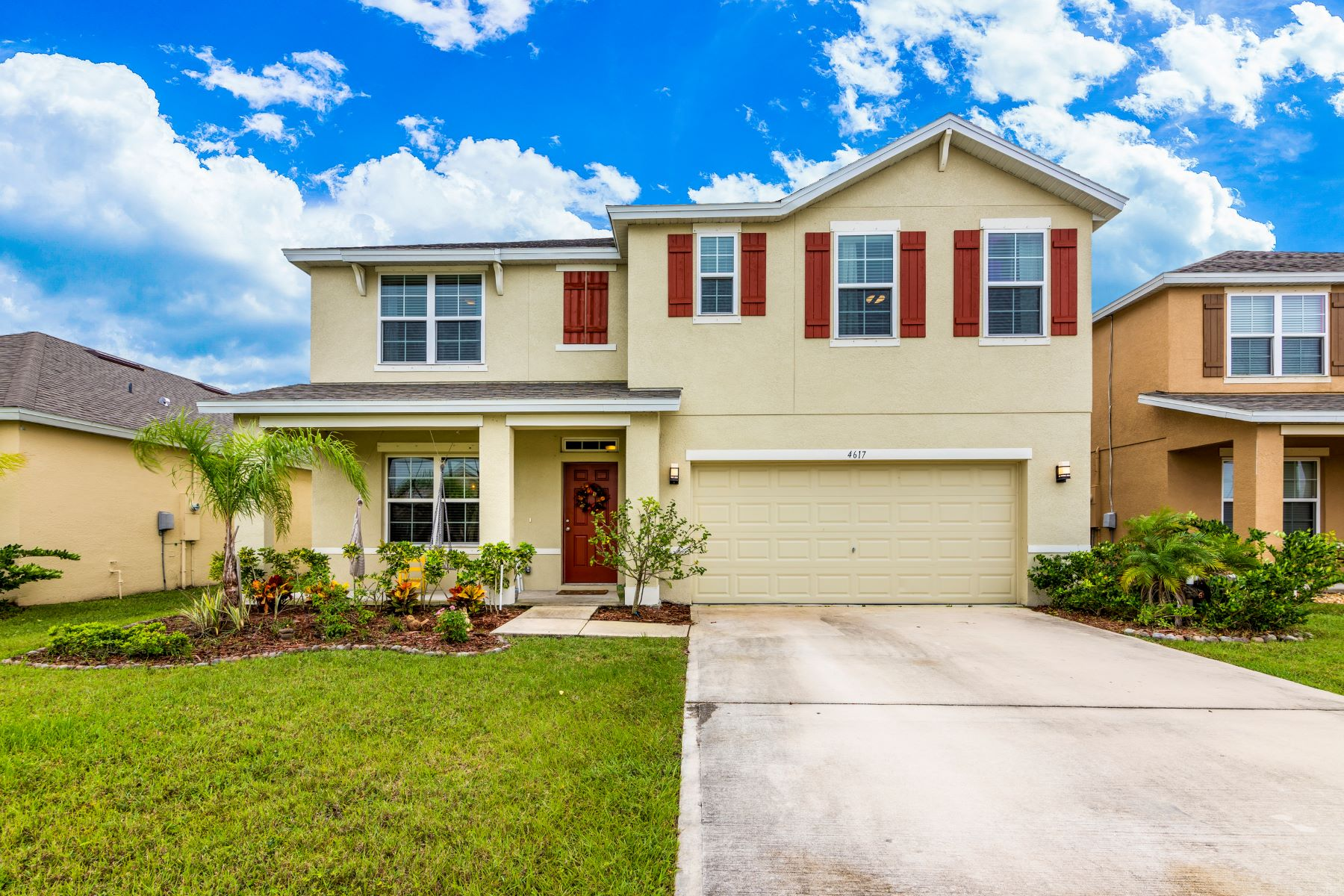 Single Family Homes for Sale at 4617 Amaca Bay Lane Melbourne, Florida 32935 United States