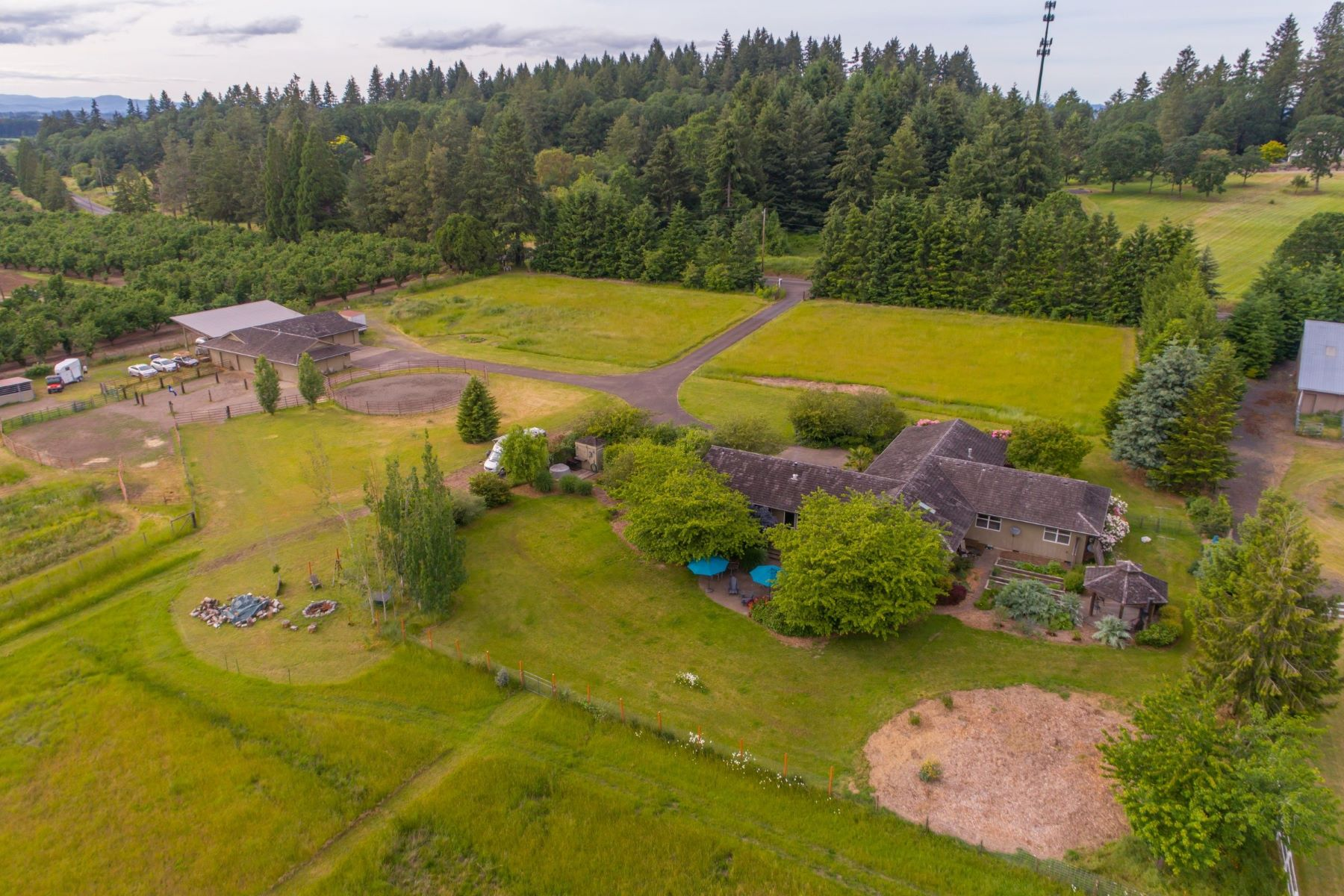 Farm / Ranch / Plantation for Active at 29100 SW BURKHALTER RD Hillsboro, OR 97123 29100 Burkhalter Rd Hillsboro, Oregon 97123 United States