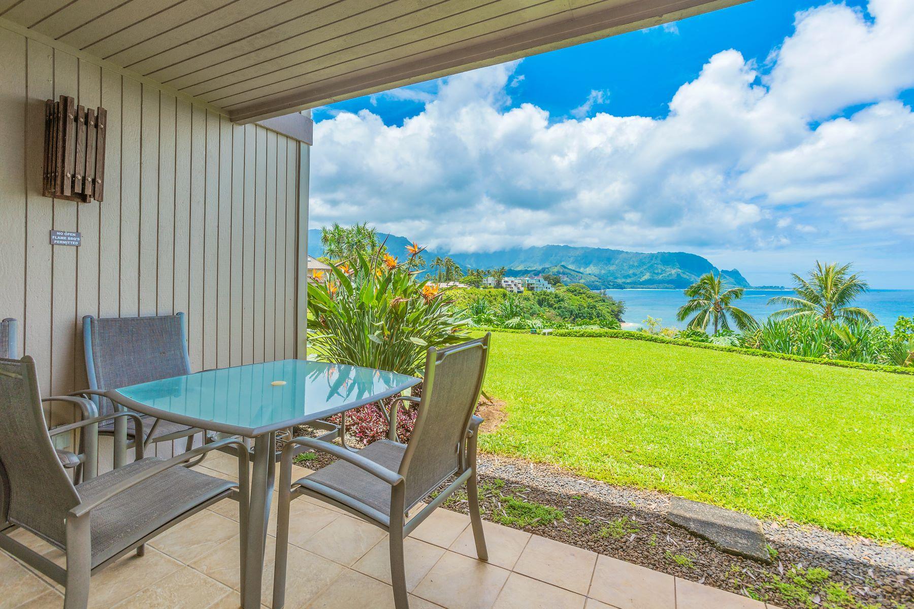 Condominiums for Sale at Pali Ke Kua #114A 5300 Ka Haku Road #114A Princeville, Hawaii 96722 United States
