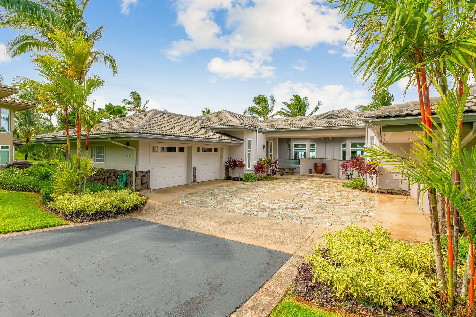 Condominiums 为 销售 在 4100 QUEEN EMMA DR #20 PRINCEVILLE, HI 96722 4100 QUEEN EMMA DR #20 普林斯维尔, 夏威夷 96722 美国