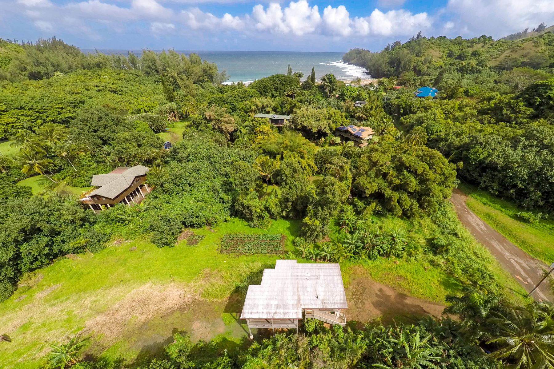 Single Family Homes for Sale at 4600 ANANALU RD HANALEI, HI 96722 4600 ANANALU RD Hanalei, Hawaii 96722 United States