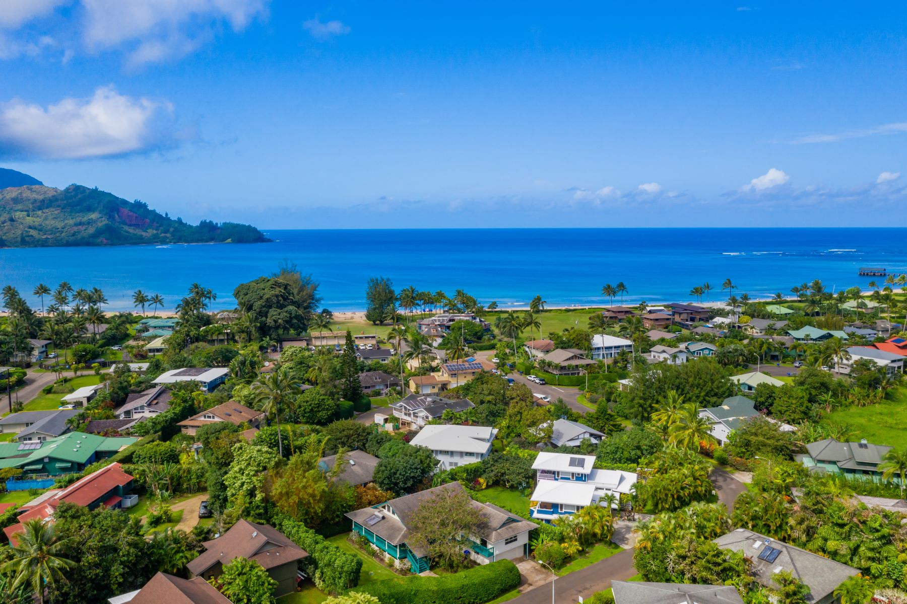 Single Family Homes 为 销售 在 4494 PILIKOA ST HANALEI, HI 96714 4494 PILIKOA ST 晗纳莱伊, 夏威夷 96714 美国