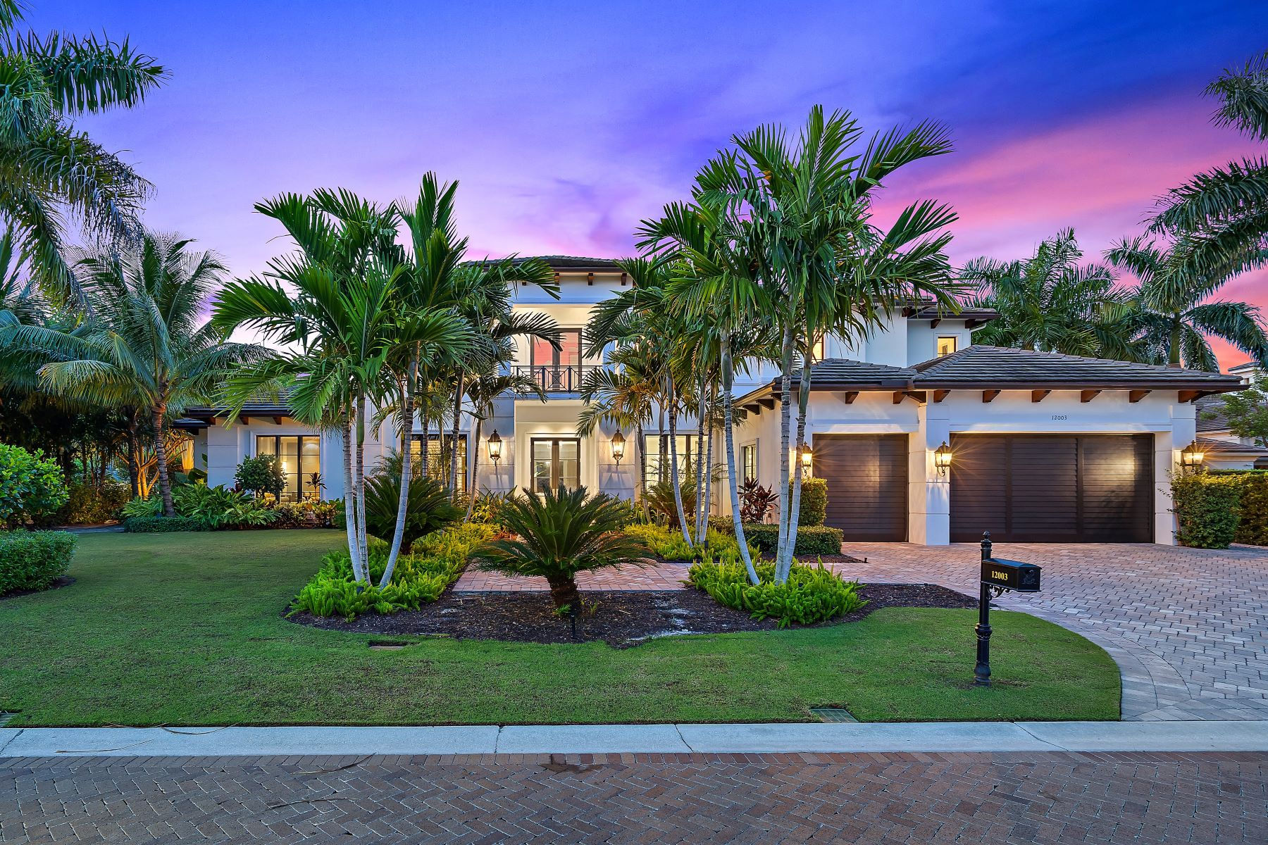 Single Family Homes for Sale at 12003 Cielo Court, Palm Beach Gardens, FL 12003 Cielo Court Palm Beach Gardens, Florida 33418 United States