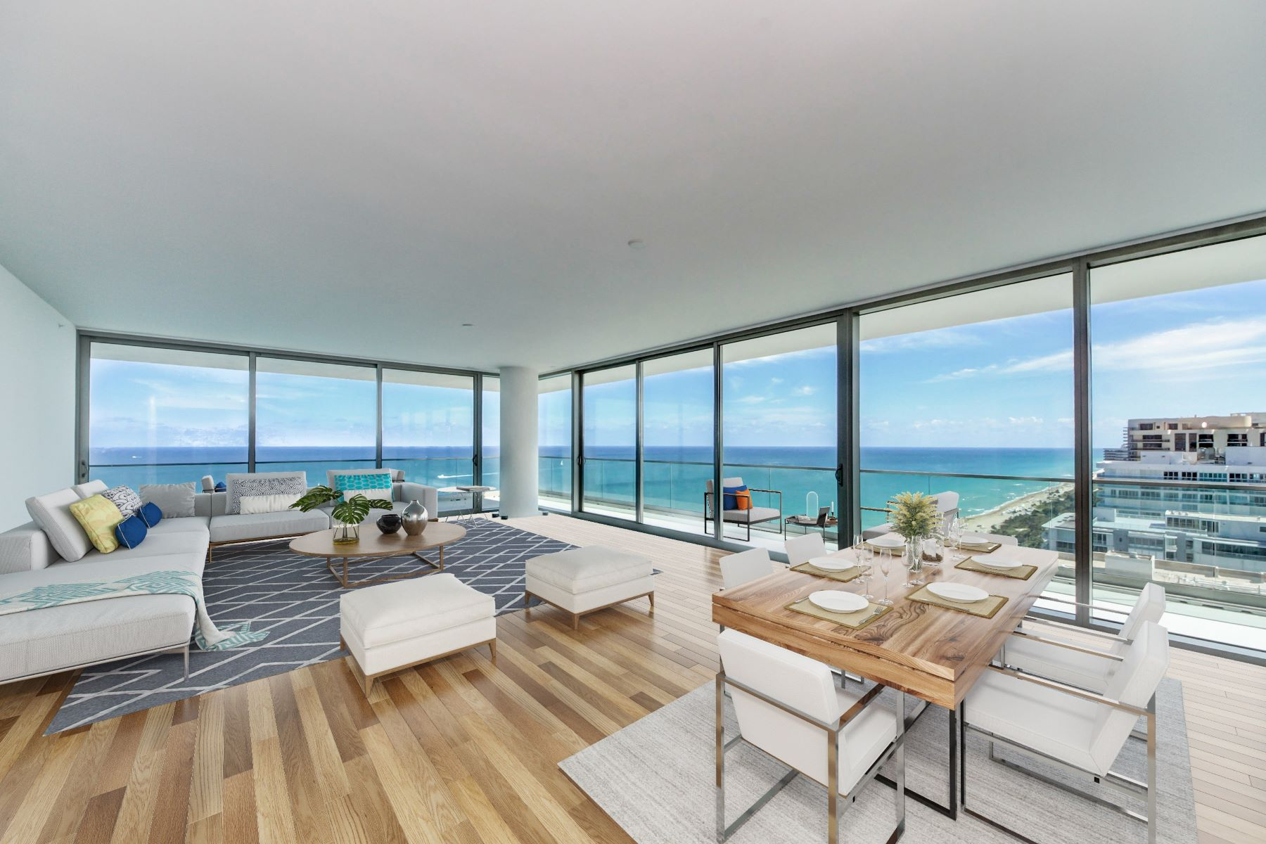 Condominiums for Active at 10201 Collins Ave 2401S Bal Harbour, Florida 33154 United States