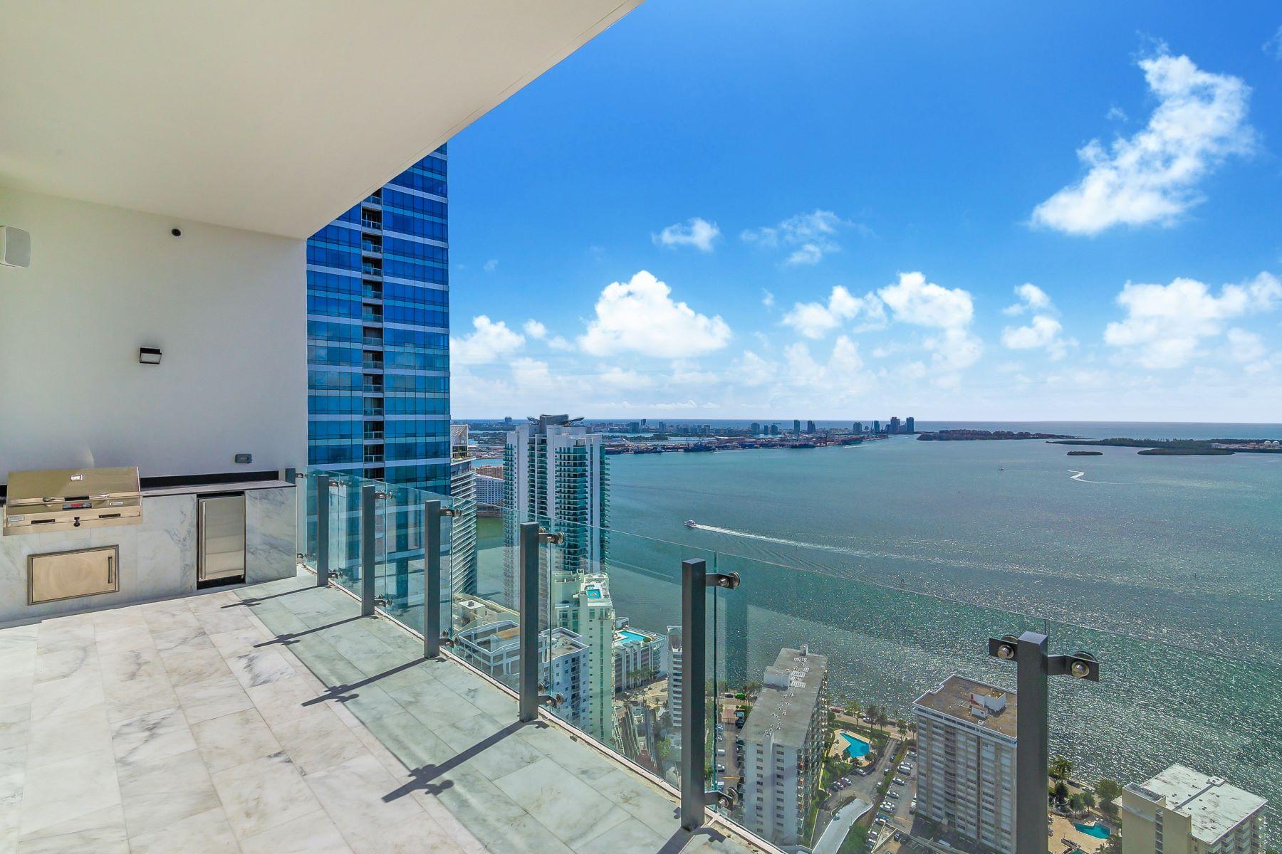 Condominiums 为 销售 在 1451 Brickell Ave #5101 1451 Brickell Ave LPH 5101 迈阿密, 佛罗里达州 33131 美国
