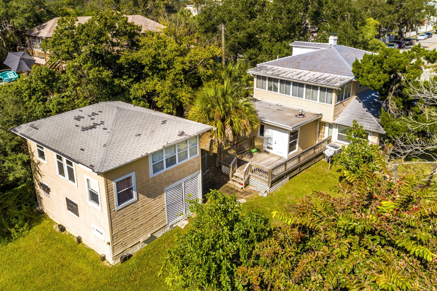 Single Family Homes for Sale at Two Historic Homes Being Sold Together! 819 & 823 E Melbourne Avenue Melbourne, Florida 32901 United States