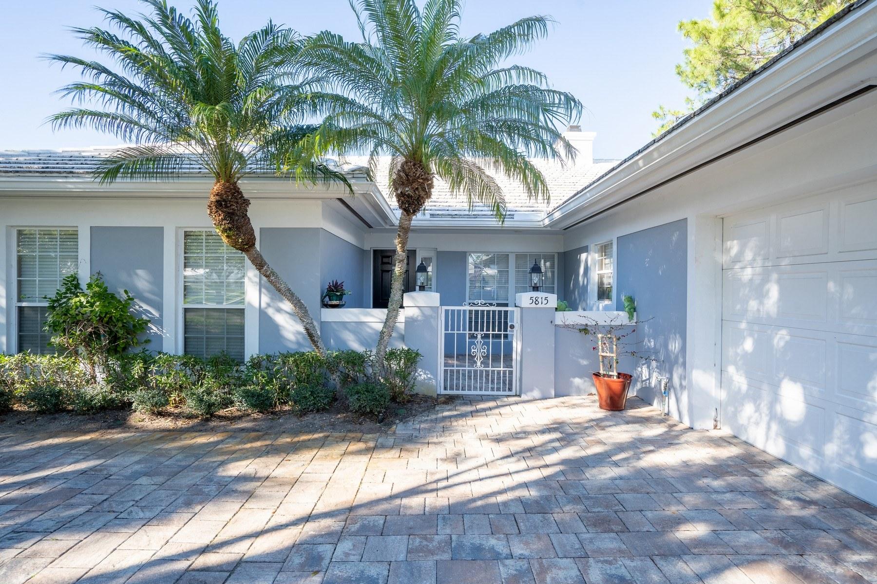 townhouses för Försäljning vid 5815 Magnolia Lane Vero Beach, Florida 32967 Förenta staterna