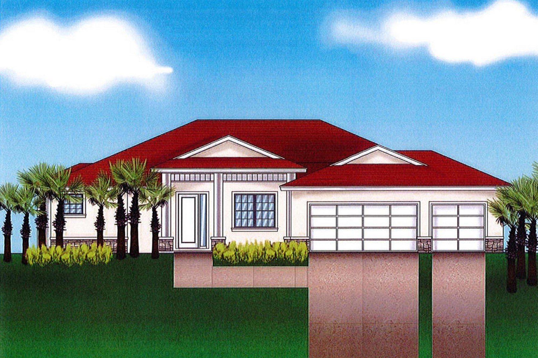 Single Family Homes for Sale at To-Be-Built Property Nestled Within Riverside Landing 317 Island Drive Melbourne Beach, Florida 32951 United States