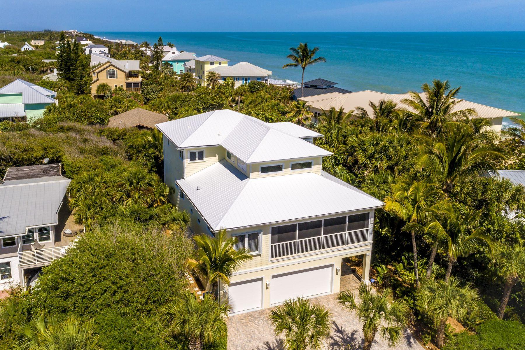 Single Family Homes для того Продажа на 1820 E Barefoot Place Vero Beach, ??????? 32963 ??????????? ?????