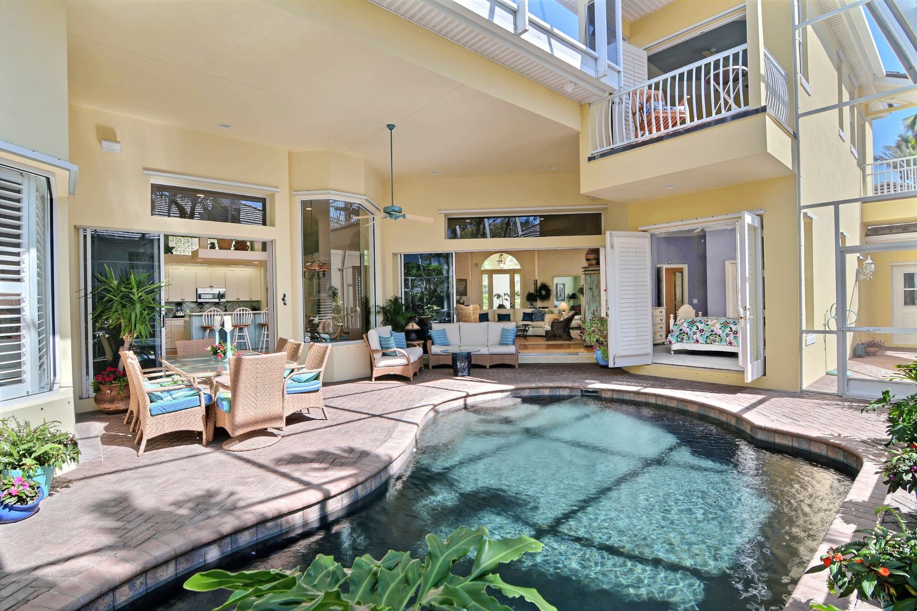 Property for Sale at Beautifully Appointed Pool Home 100 Mariner Beach Lane Vero Beach, Florida 32963 United States