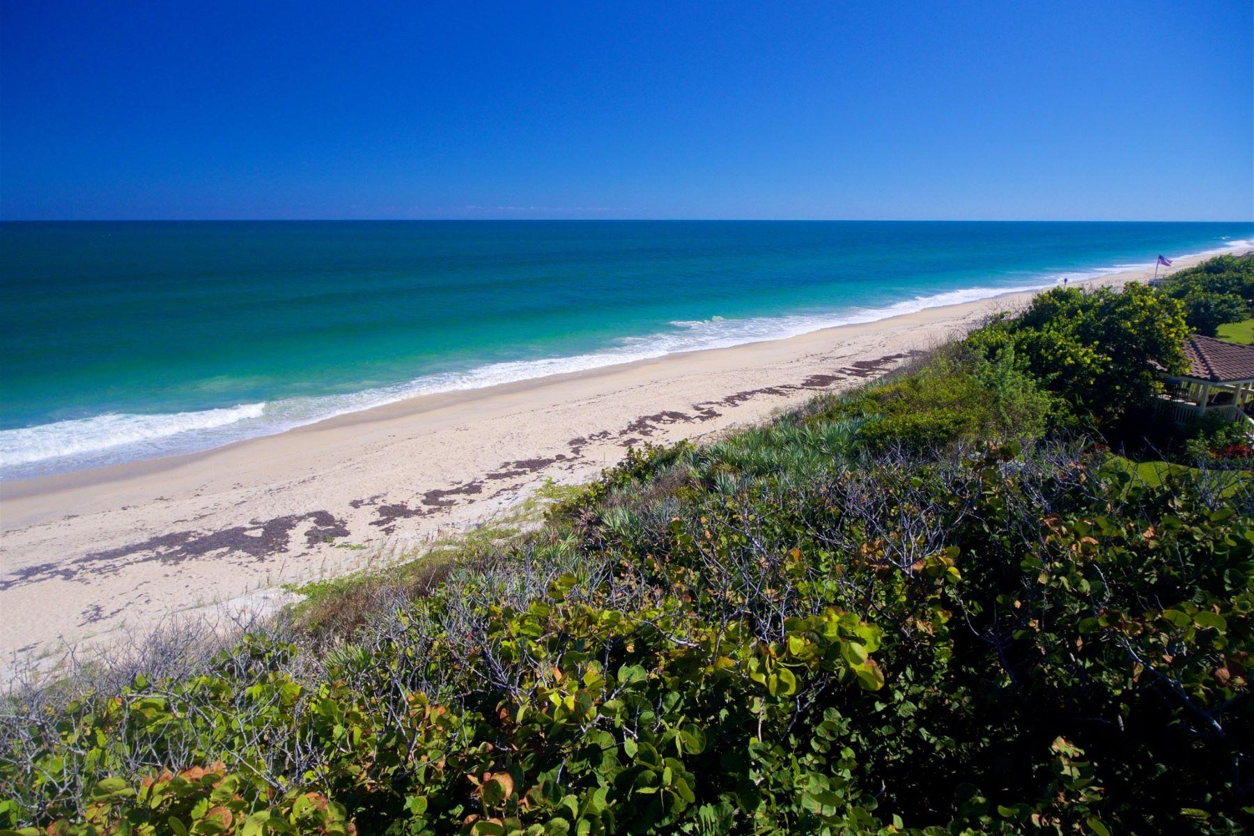 のために 売買 アット Premium Oceanfront Home Site 5655 Highway A1a Melbourne Beach, フロリダ 32951 アメリカ
